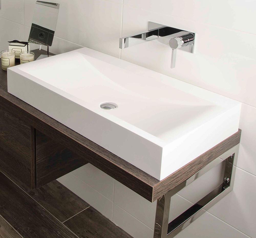Metreaux Mono Smooth Bodied Basin Mixer Wash Basin