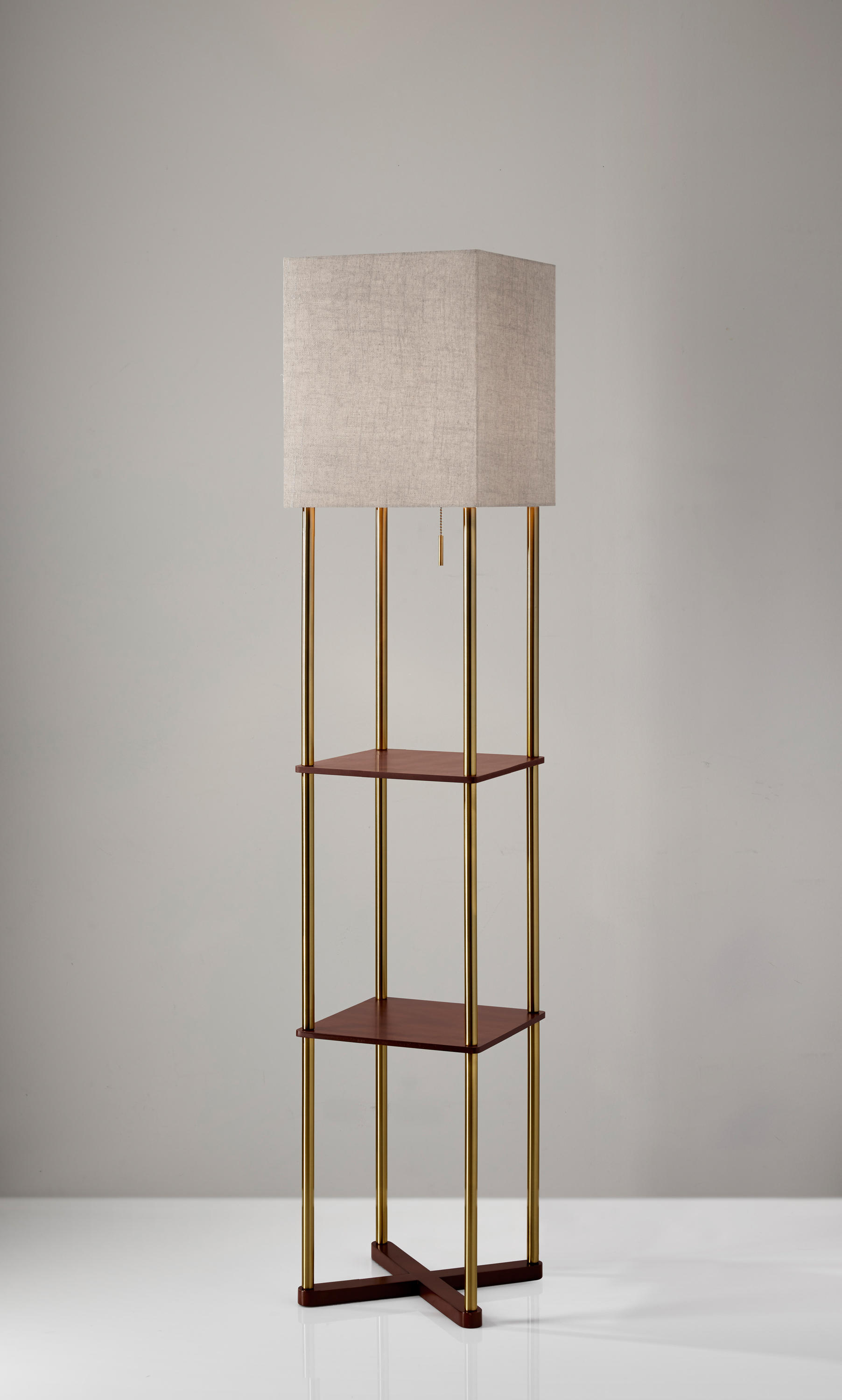 Harrison Shelf Floor Lamp Free Standing Lights From Ads360 Architonic