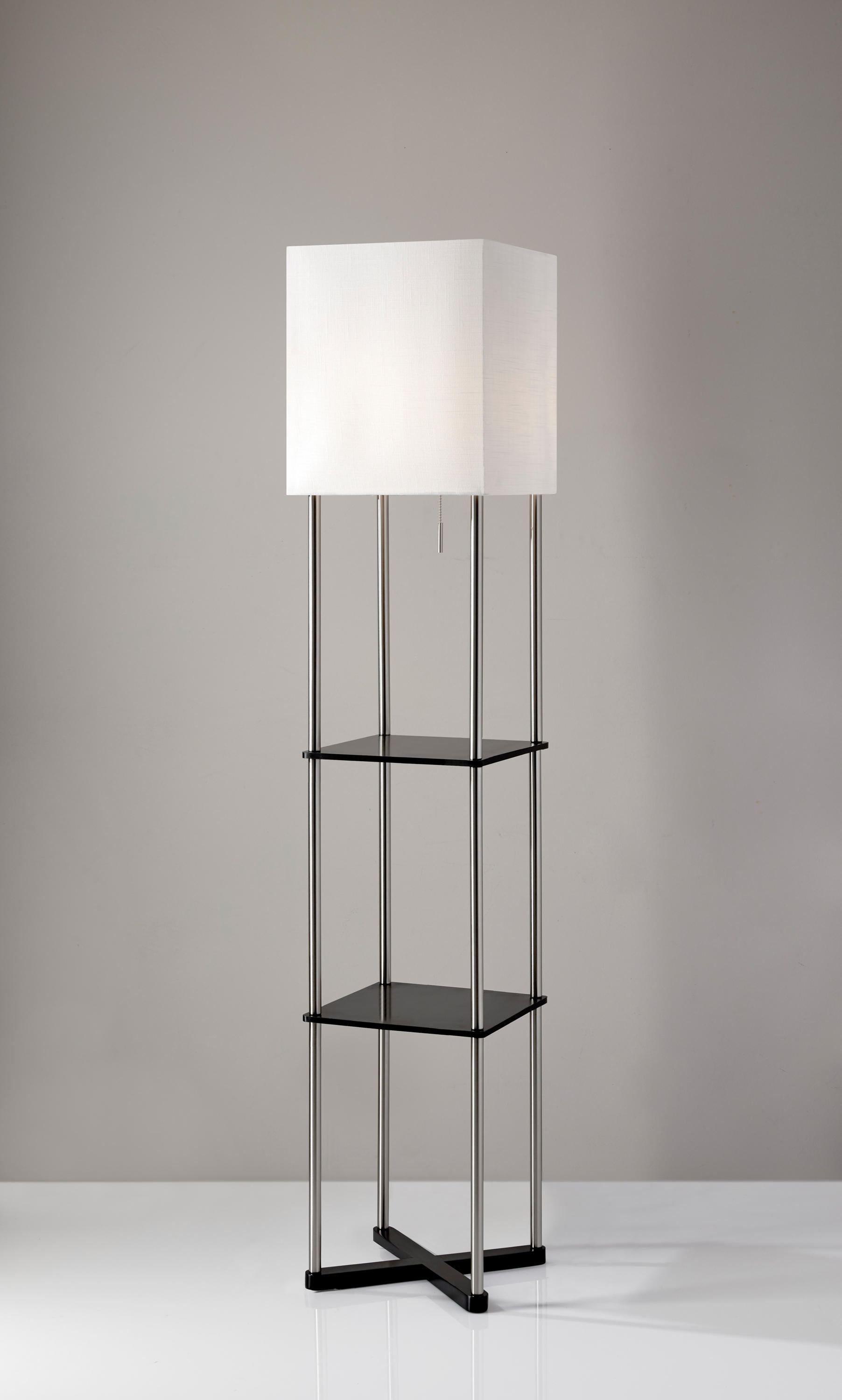 Harrison Shelf Floor Lamp Free Standing Lights From