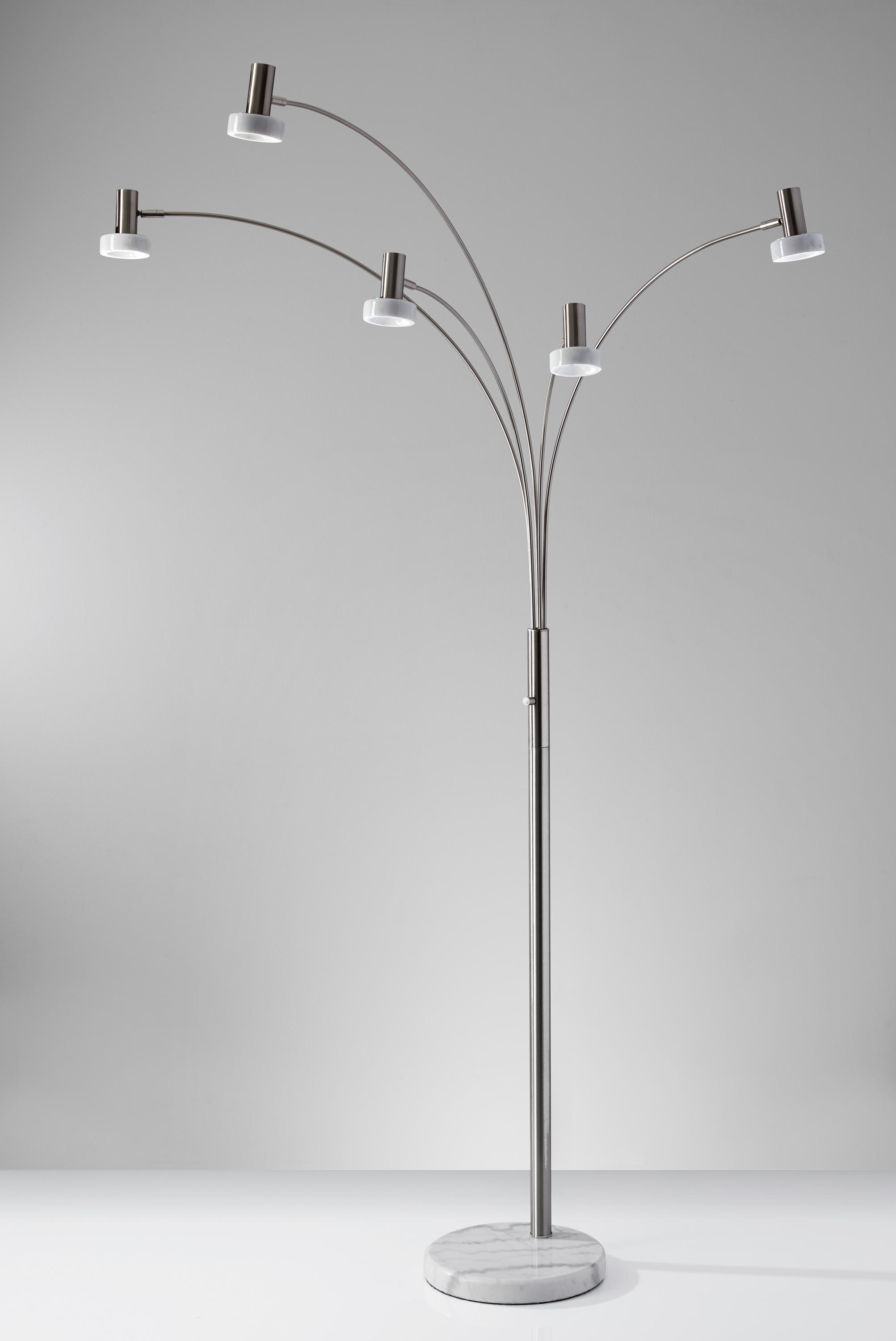 Miranda Led Arc Lamp Free Standing Lights From Ads360