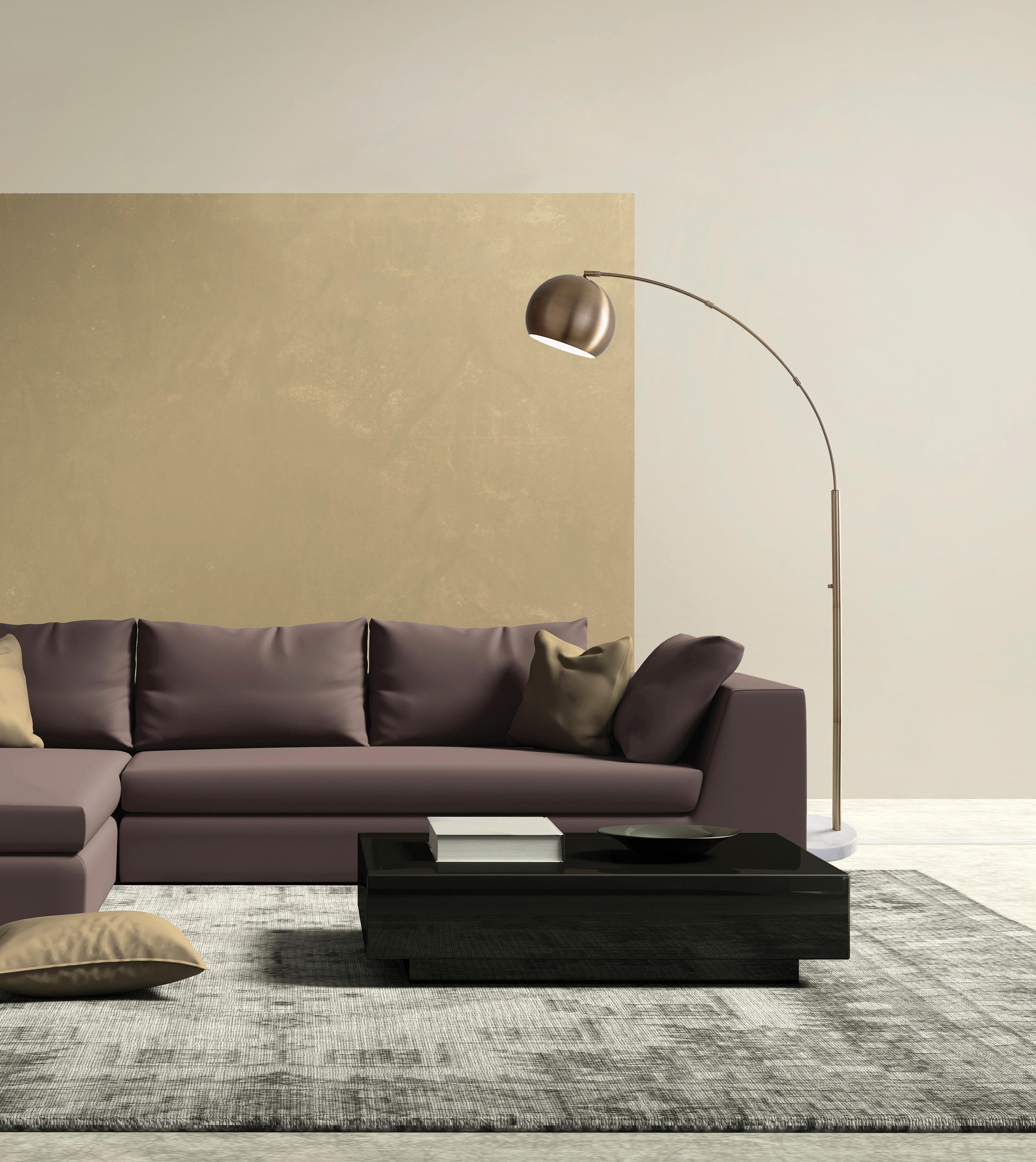 Astoria Arc Lamp By ADS360
