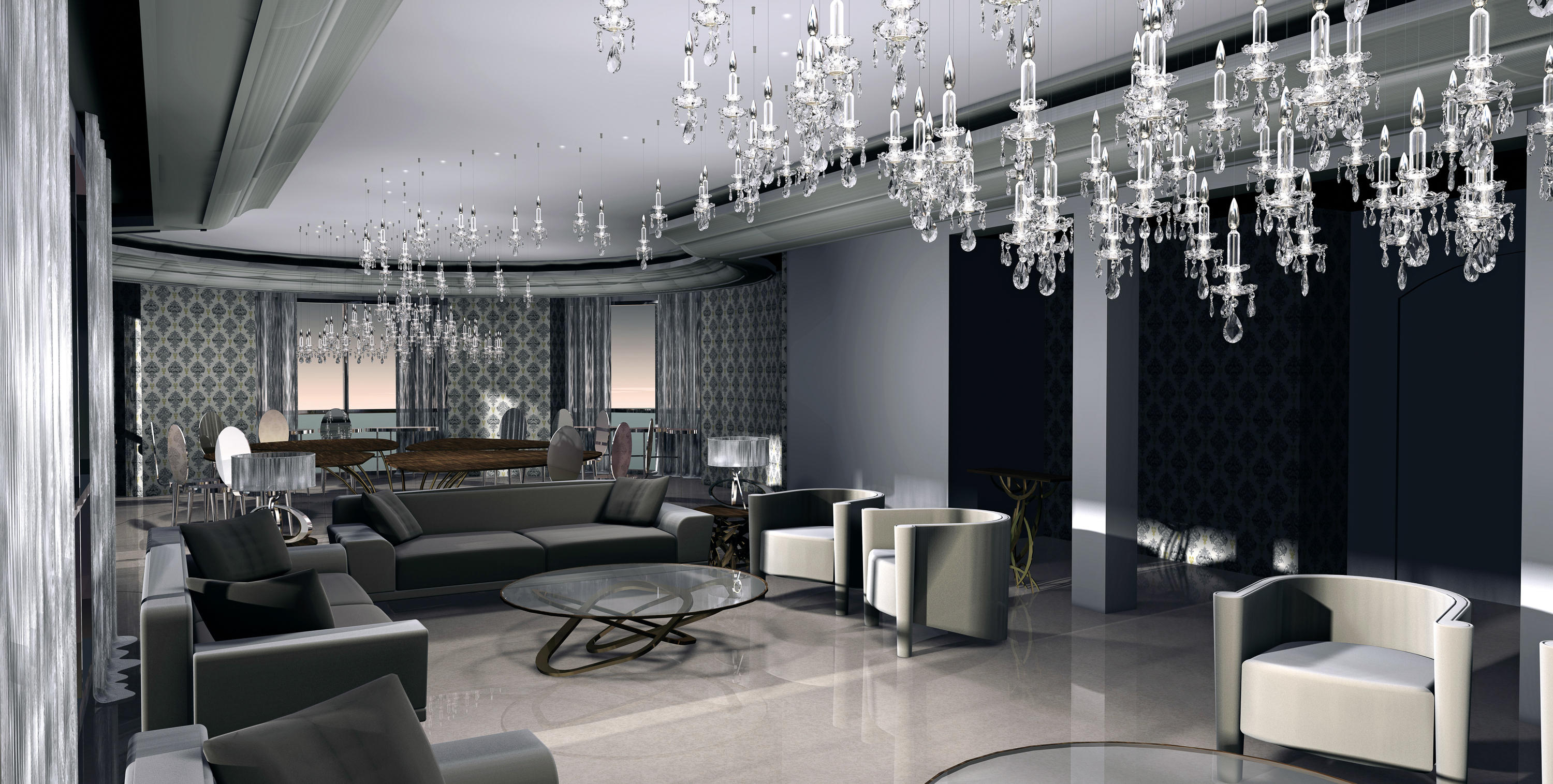 Balance Single Suspended Lights From Windfall Architonic