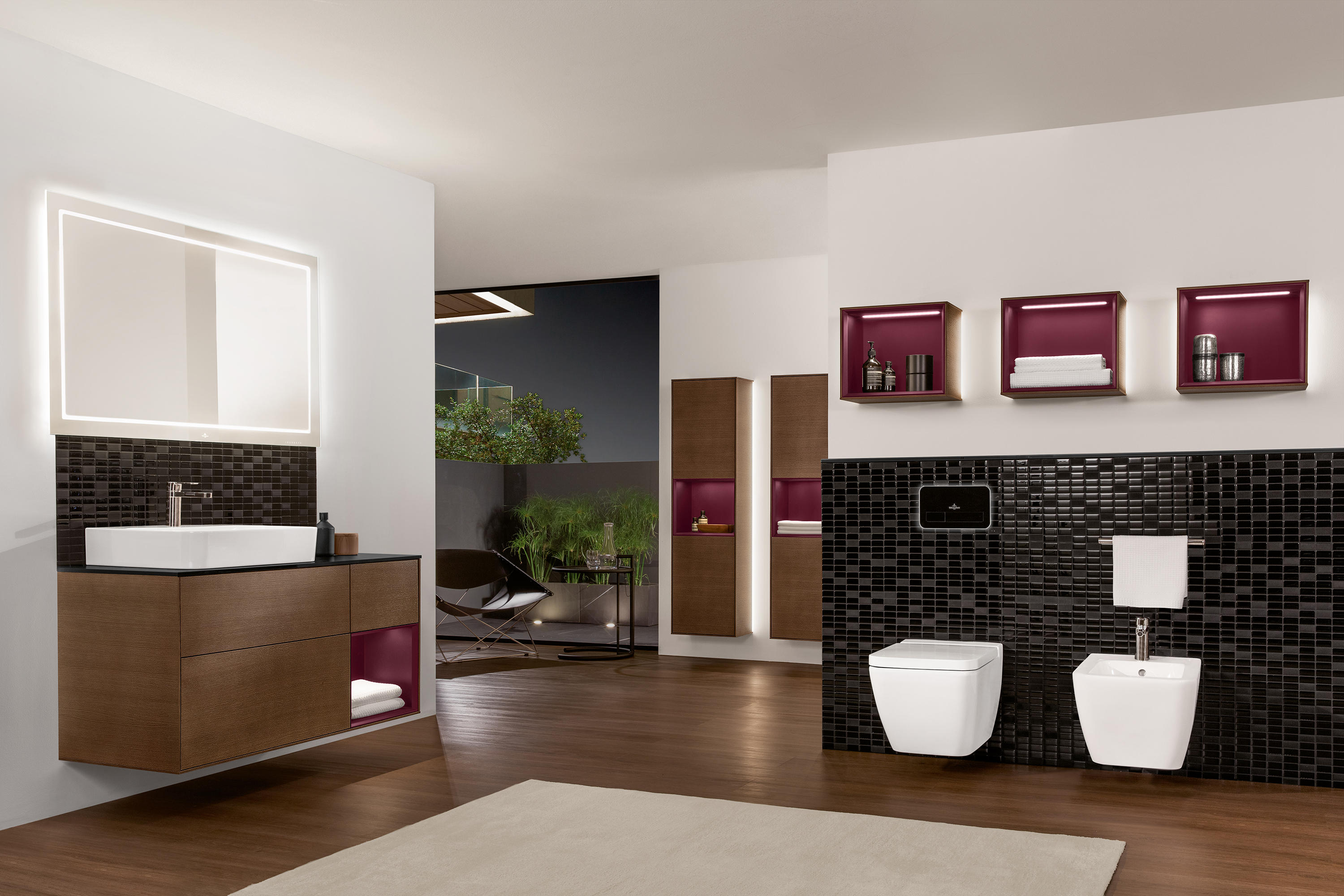 finion 4139d2 wash basins from villeroy boch architonic. Black Bedroom Furniture Sets. Home Design Ideas