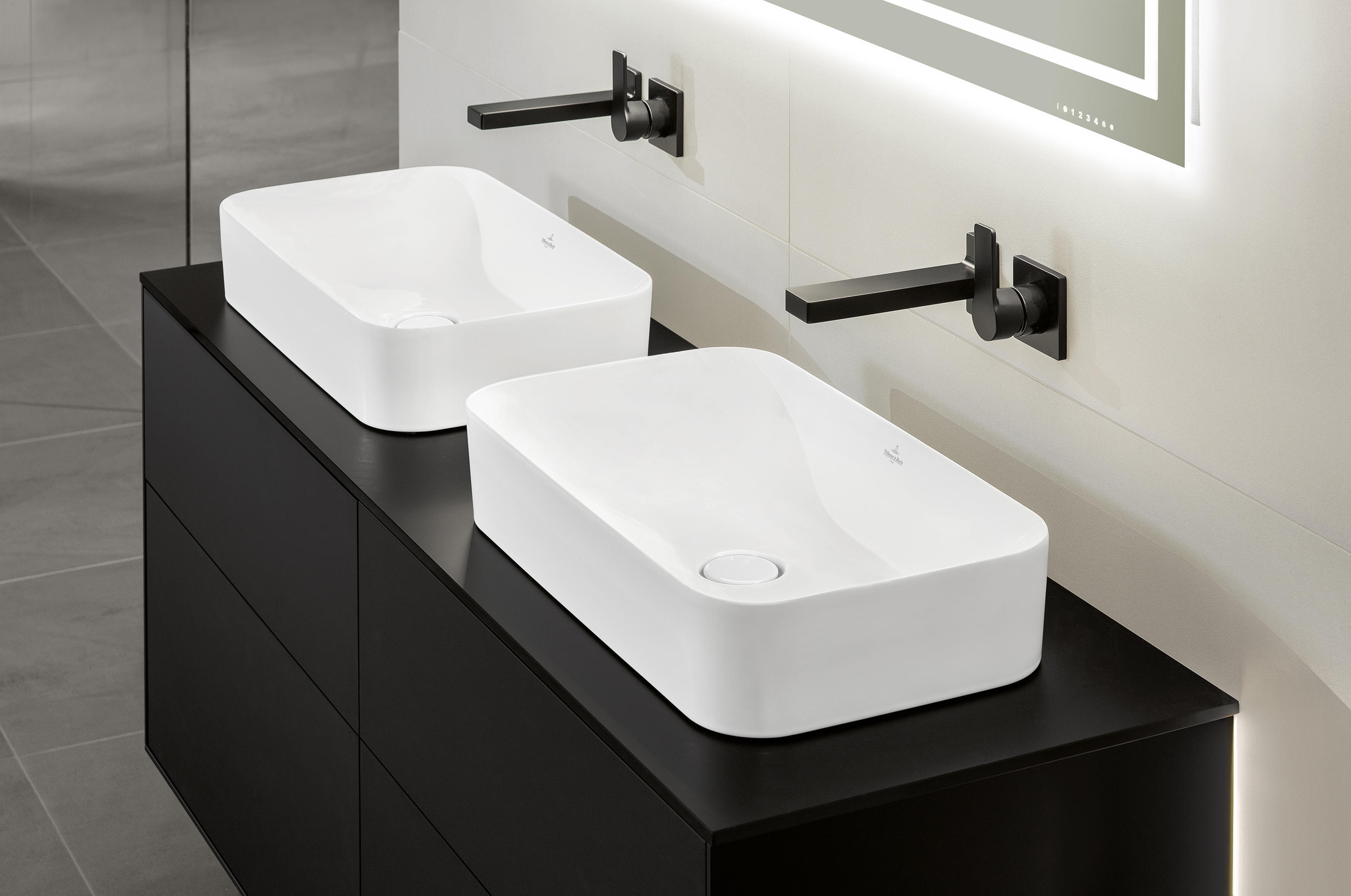 Finion 4139d2 wash basins from villeroy boch architonic - Villeroy and boch ...