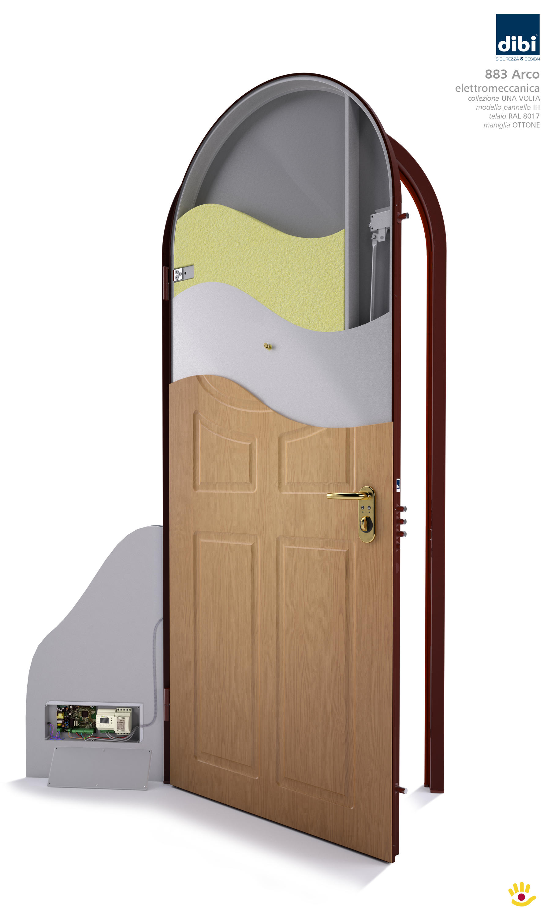 OPENTECH - SECURITY DOOR - Front doors from Di.Bi. Porte Blindate ...