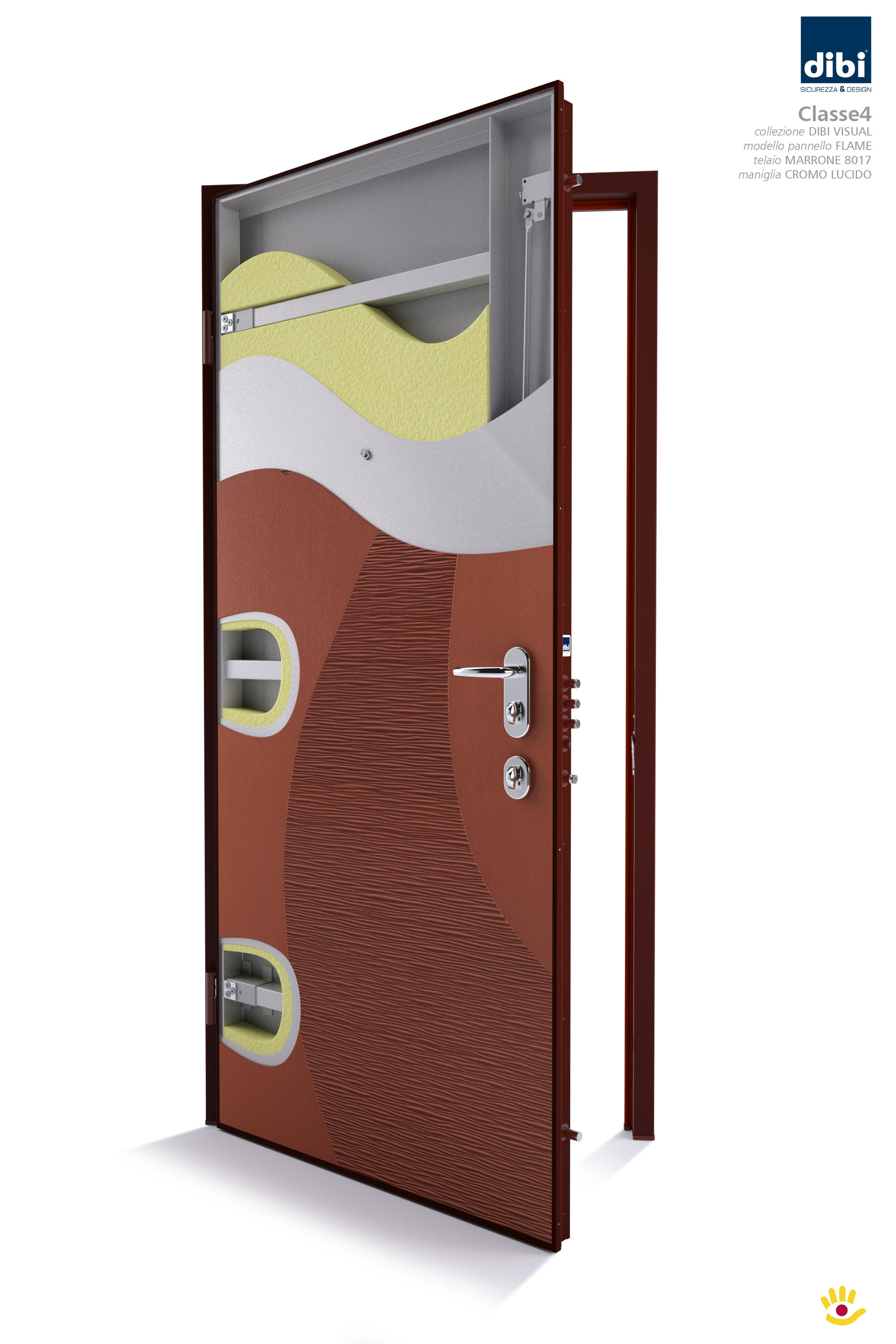 884 - SECURITY DOOR - Front doors from Di.Bi. Porte Blindate ...