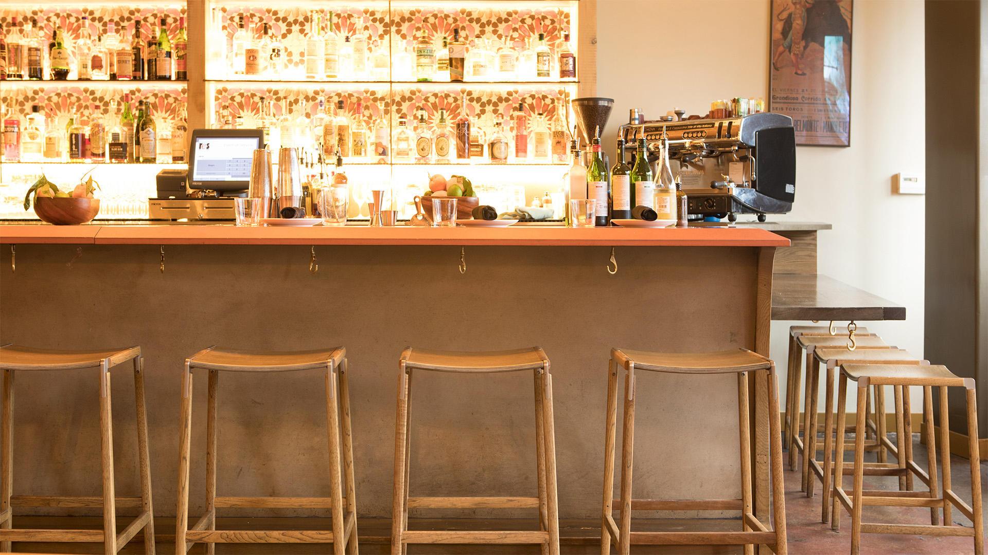 bartlett backless bar stool