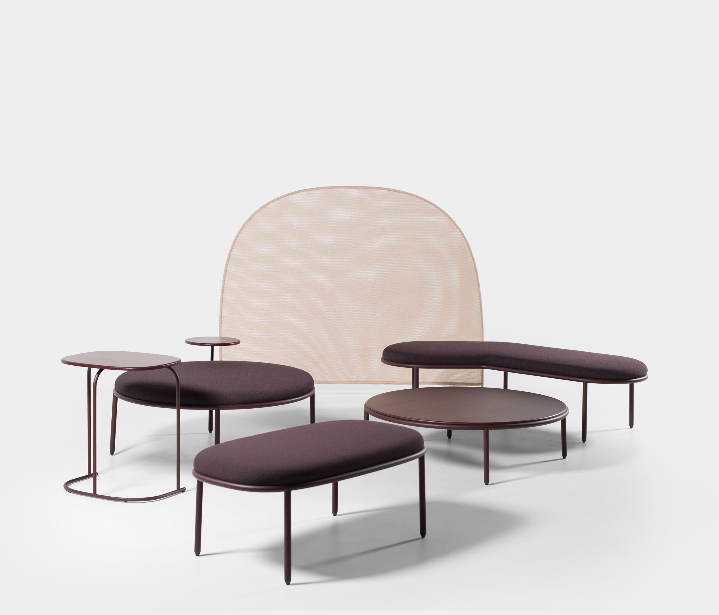 Campfire Small Bench Seating Islands From Mitab Architonic