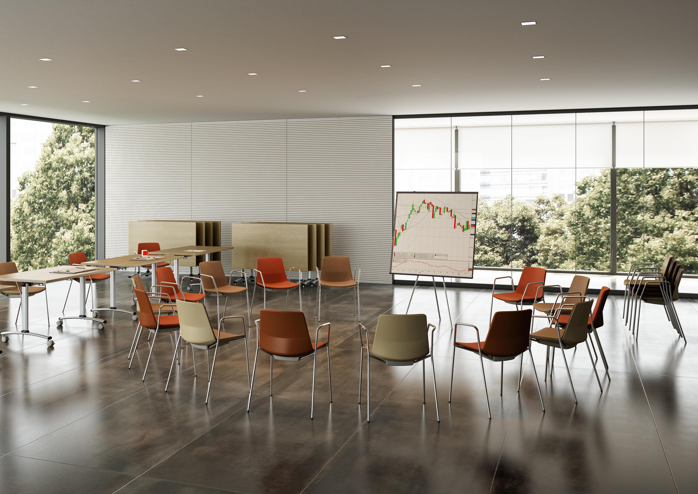 Quadrifoglio Sedie Ufficio : Clue sedie visitatori the quadrifoglio group architonic