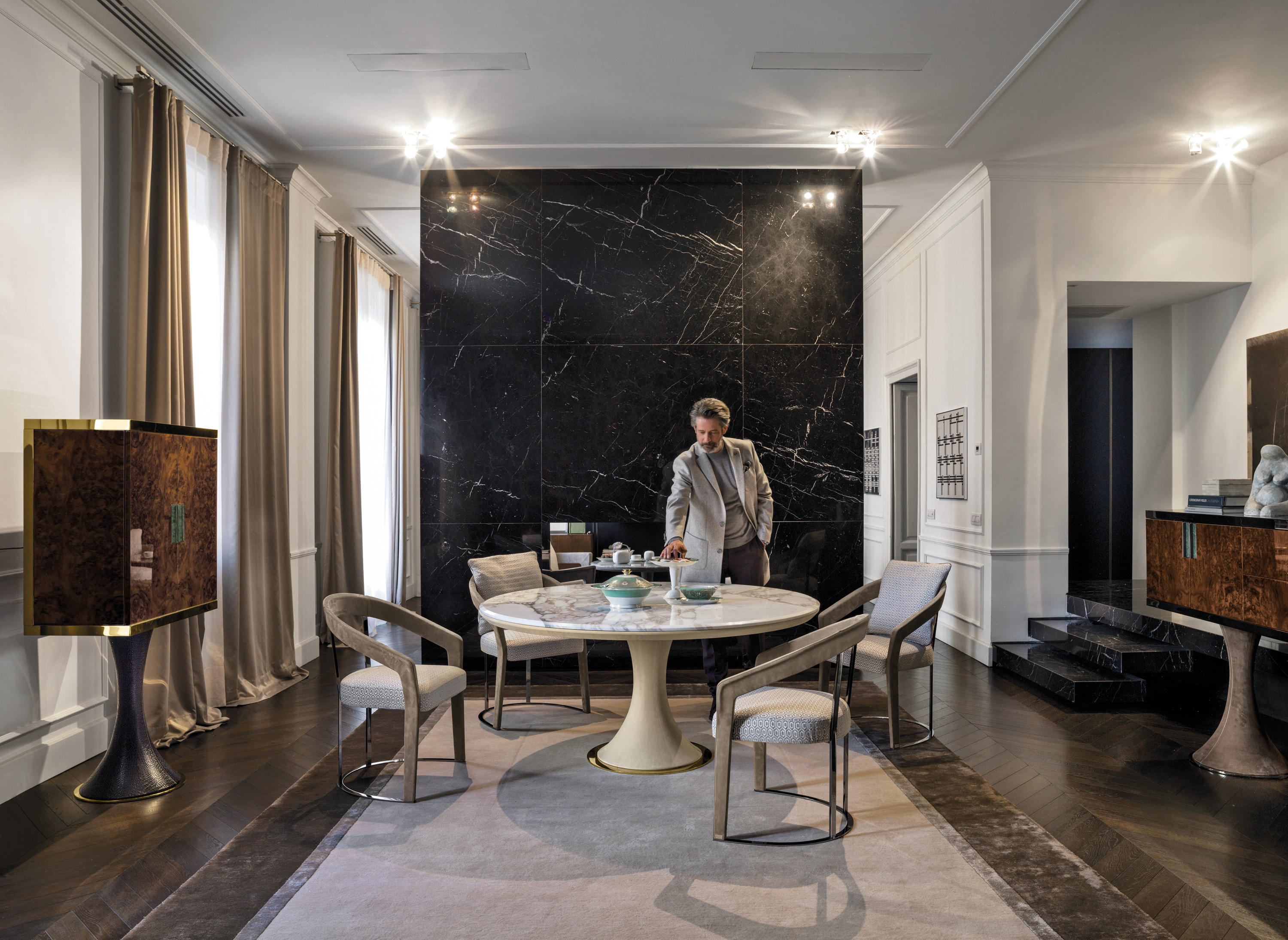 David Dining Tables From Longhi Spa Architonic
