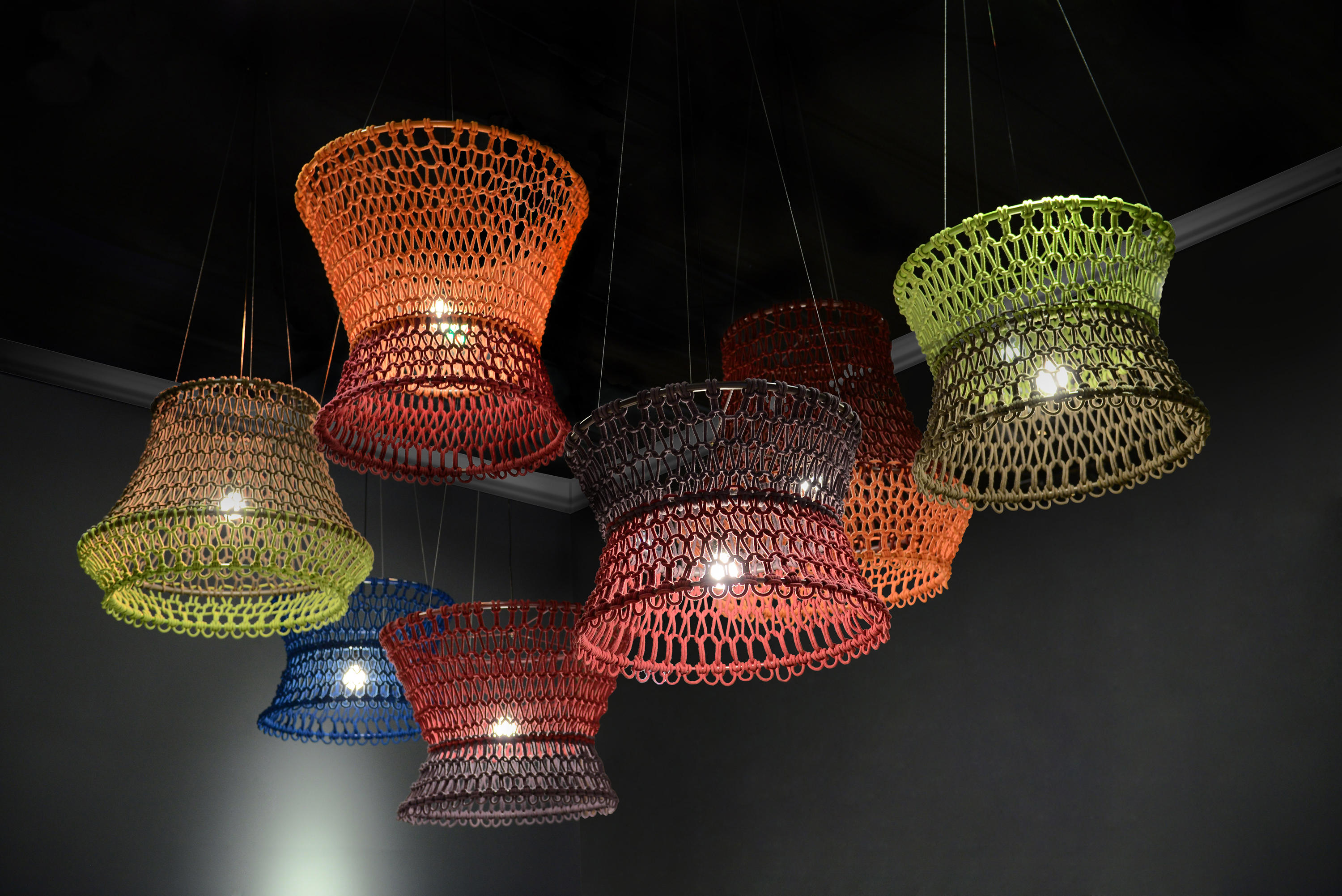 Carousel Hanging Lamp Large By Kenneth Cobonpue ...