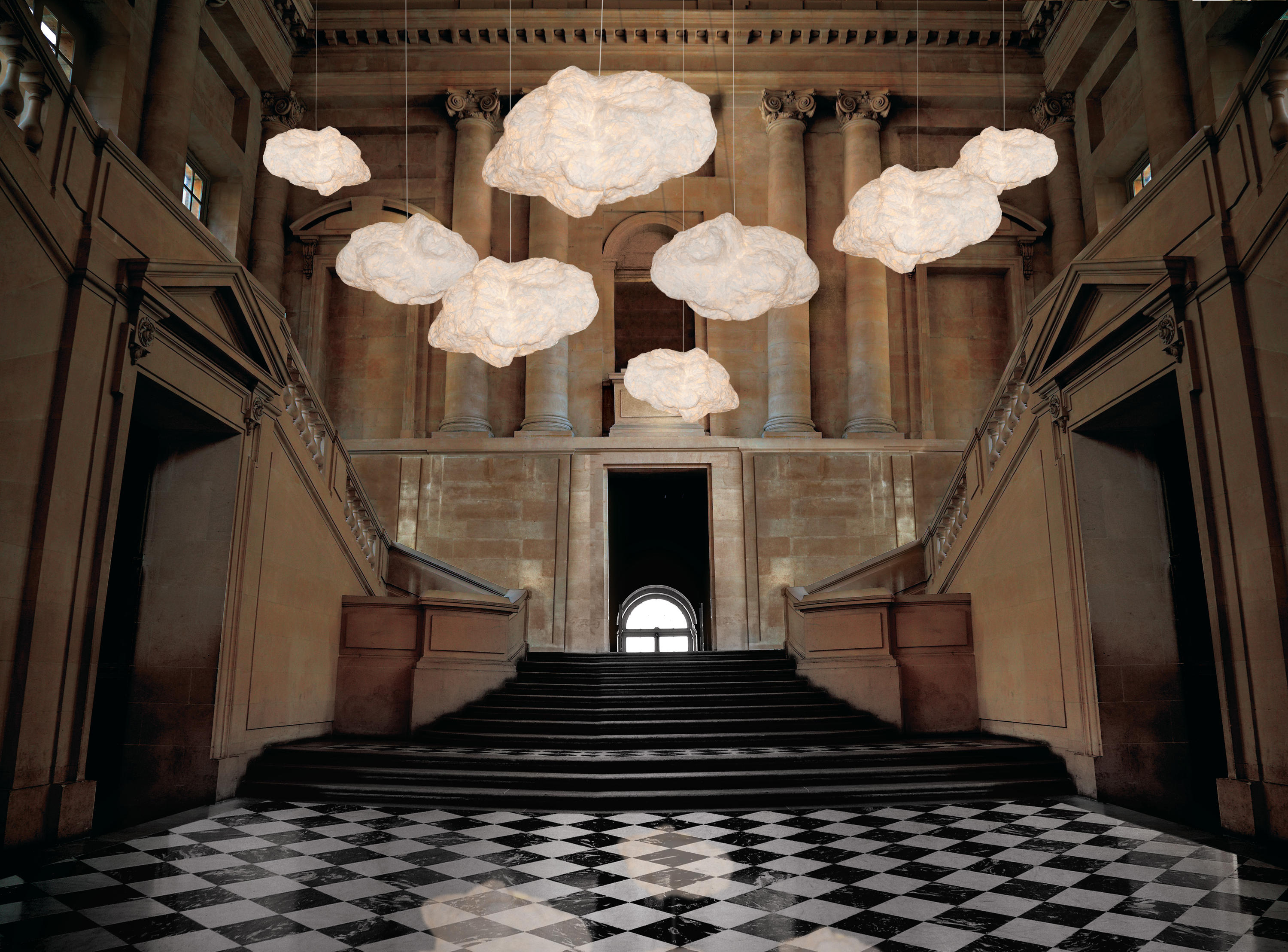 Cloud Hanging Lamp Small Suspended Lights From Kenneth
