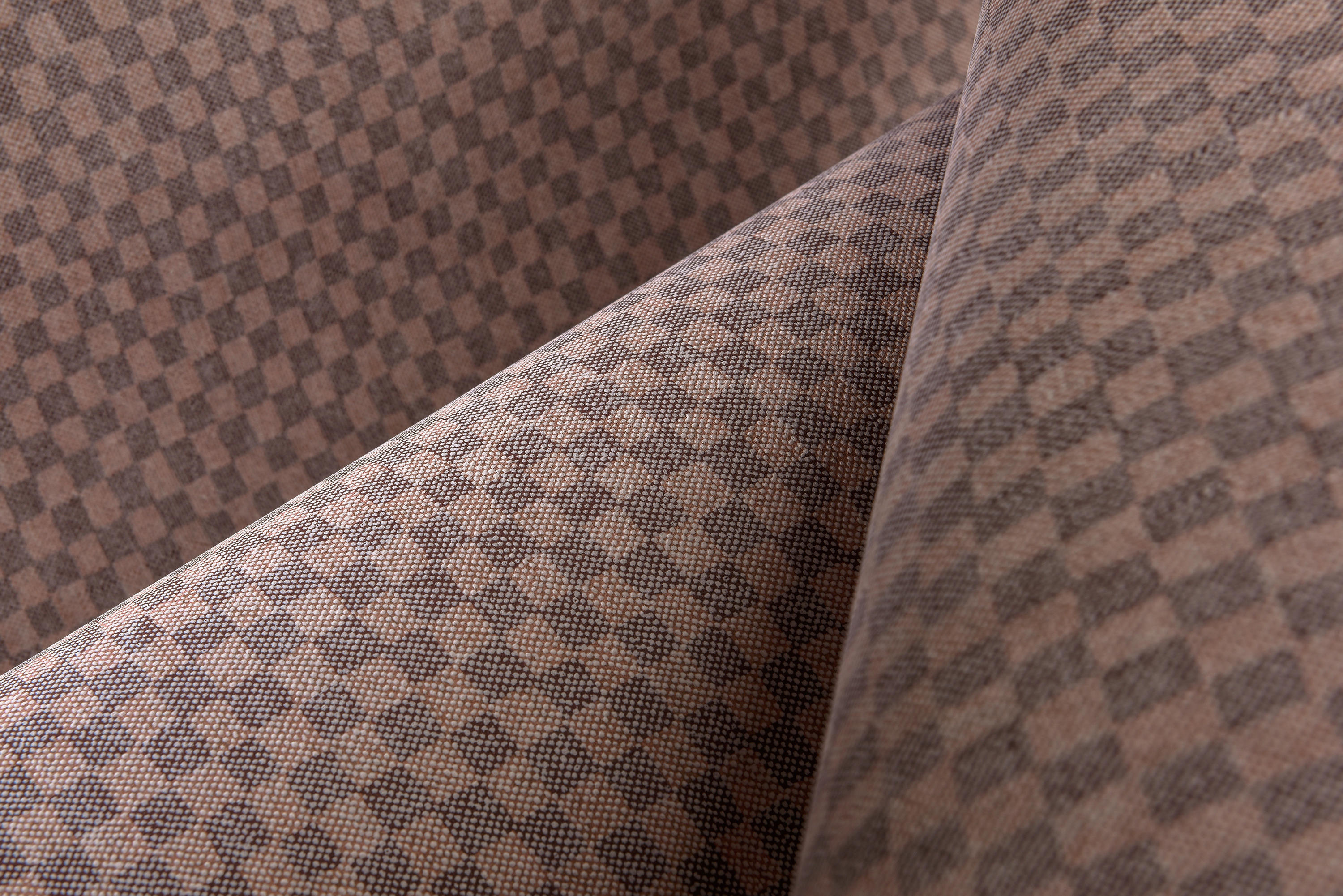Flamant caract re damier wall coverings wallpapers for Carrelage damier