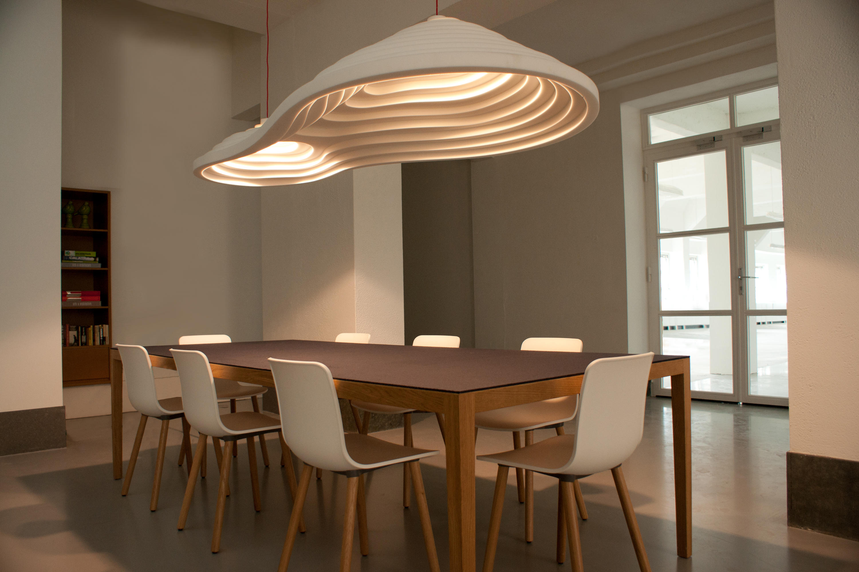 rice field acoustic lamps suspended lights from tuttobene architonic