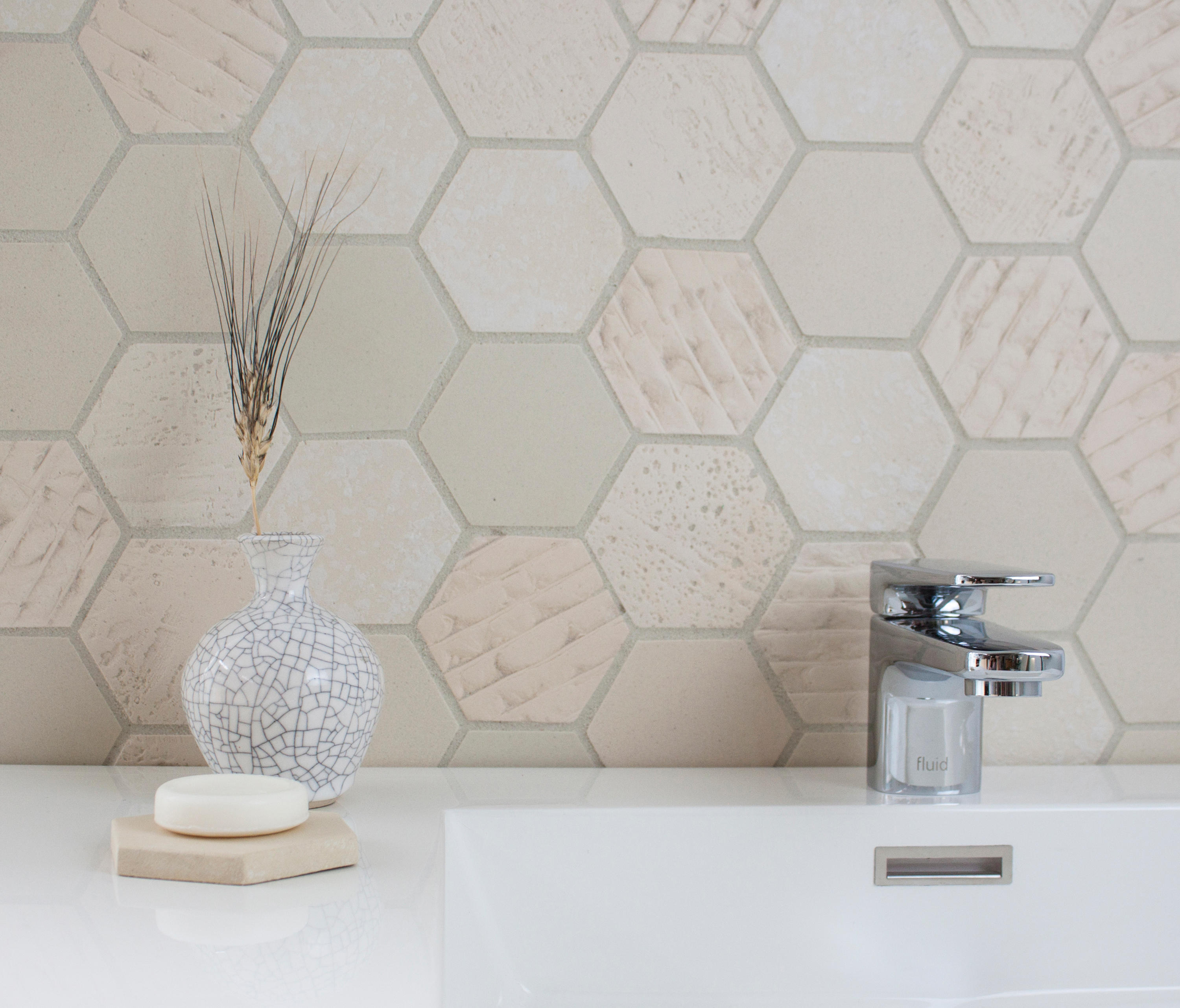 EARTHENGLASS   TEXTURE – CRATER - Glass tiles from Interstyle ...