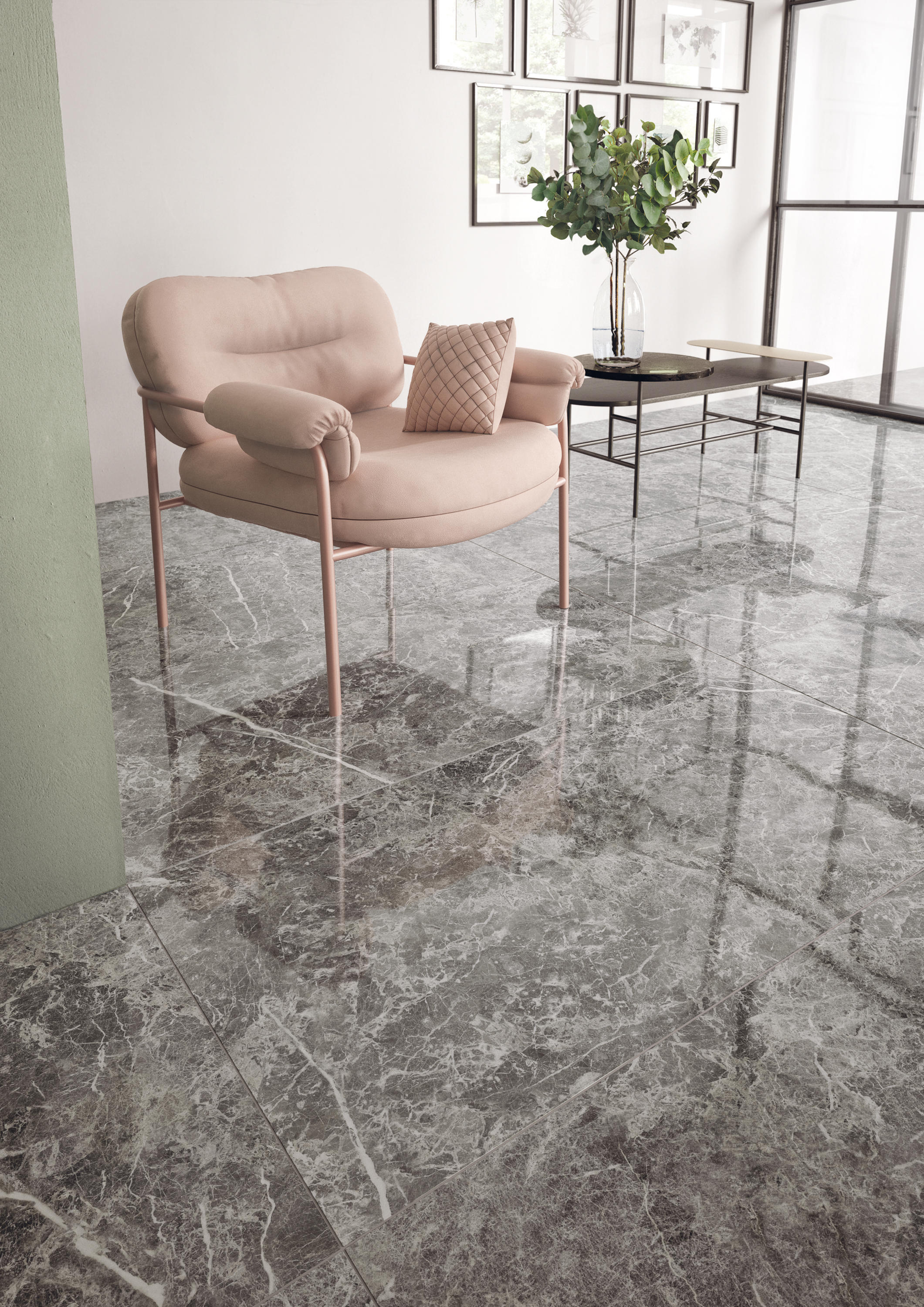 Elements Lux Calacatta Gold Ceramic Tiles From Keope Architonic