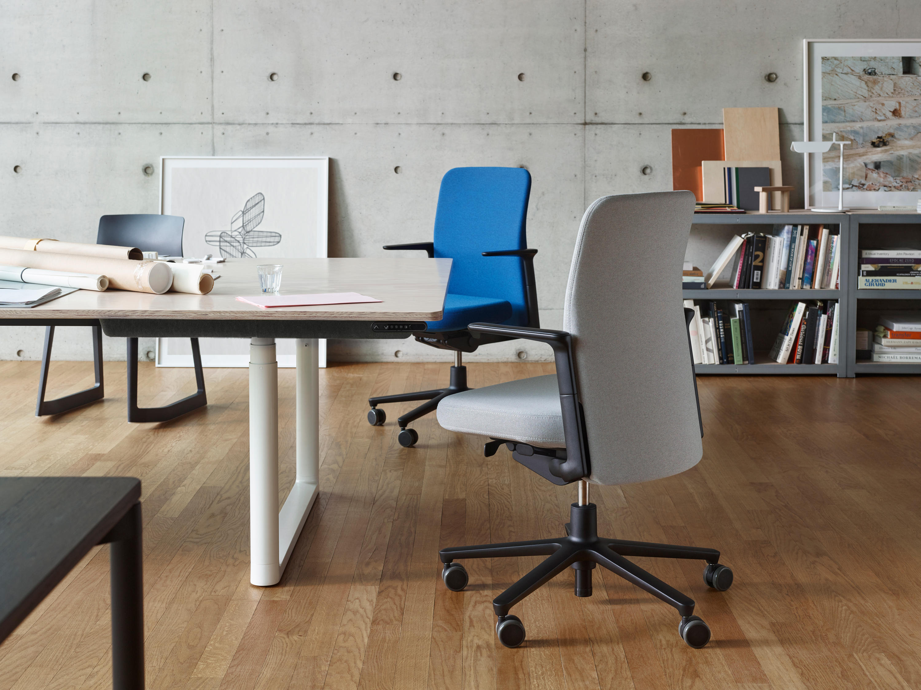 Genial ... Pacific Chair Medium Back By Vitra ...