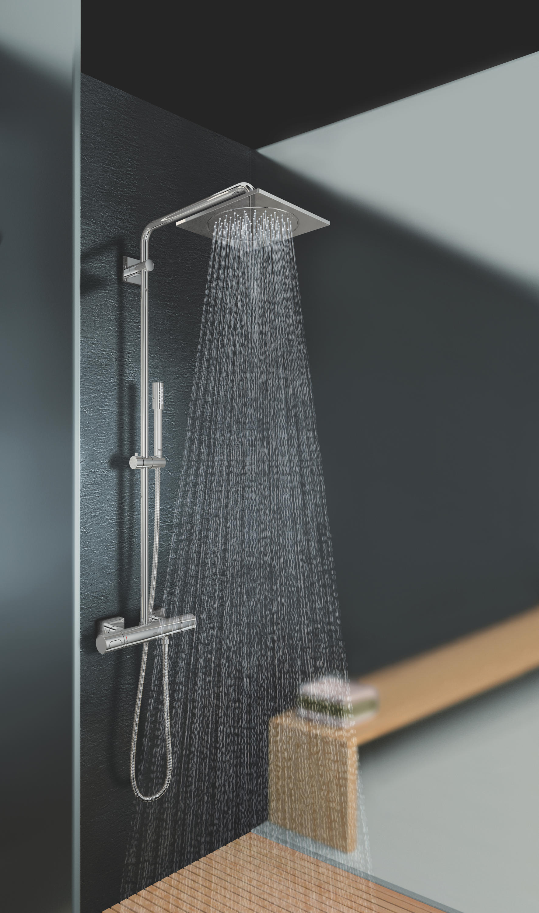 RAINSHOWER® SYSTEM 400 SHOWER SYSTEM WITH THERMOSTAT - Shower taps ...