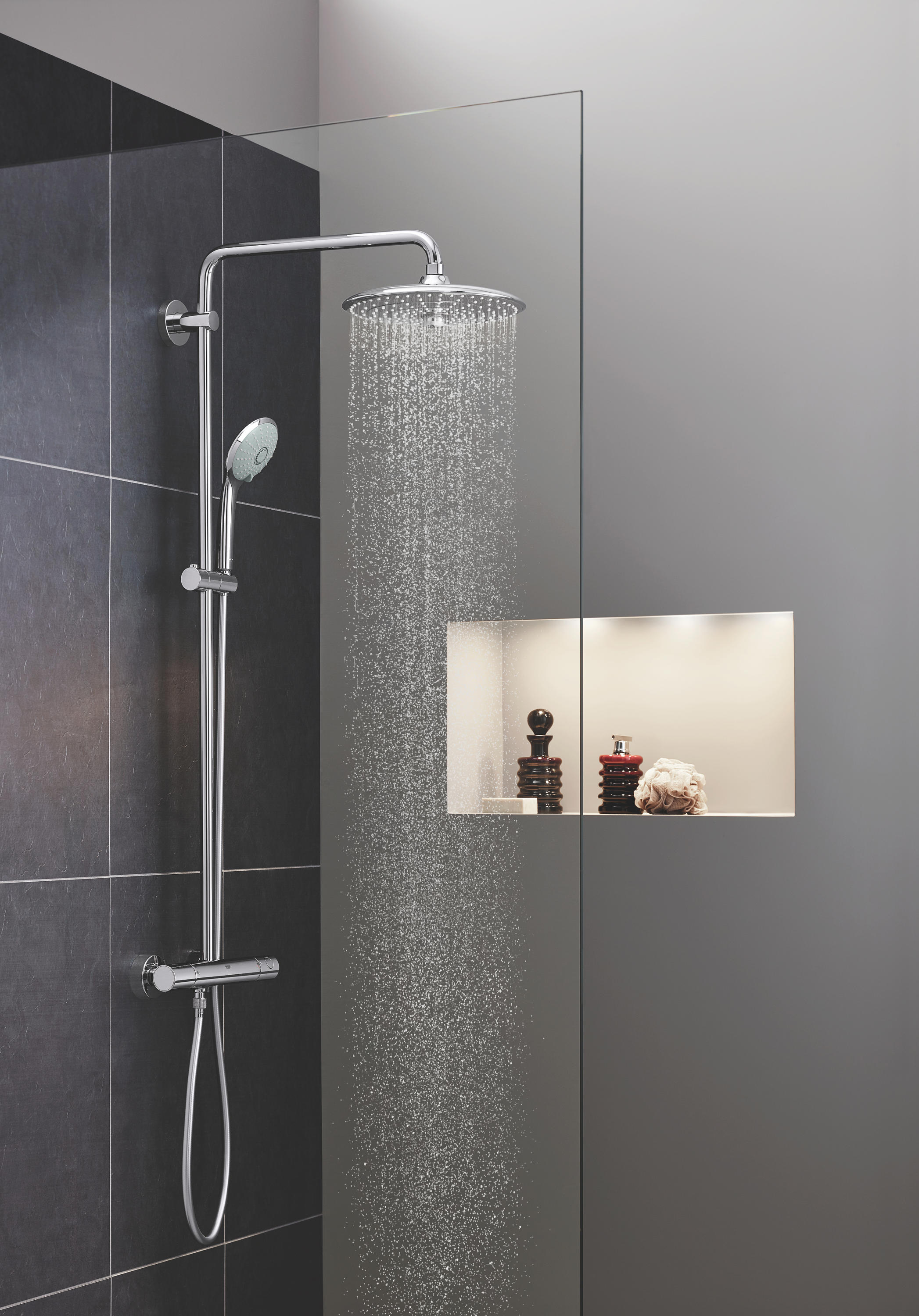commitment system bathroom shower brand to pin illustrate values creating exceptional that experiences on inspiration s pinterest caracalla four by grohe