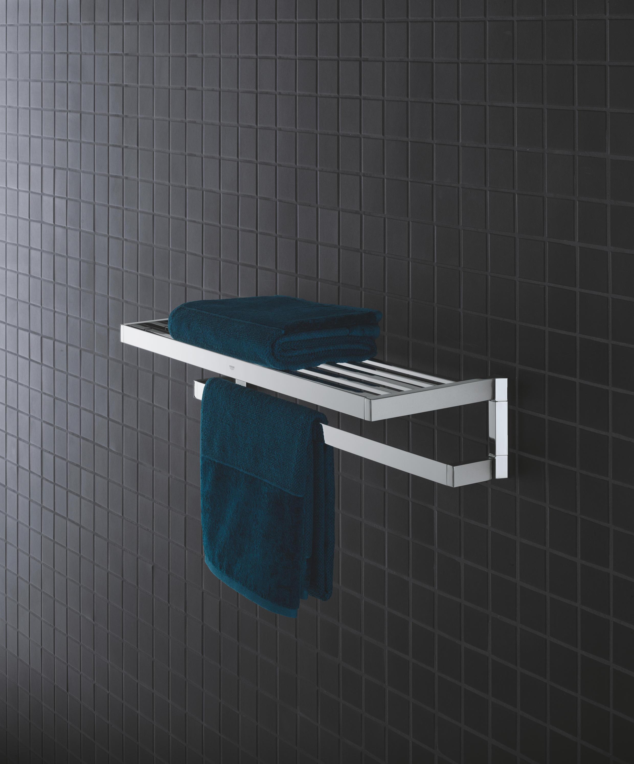 b bathroom soap rack logo