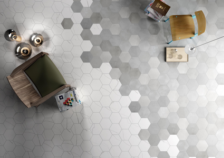 Mate Marmo Bianco Ceramic Tiles From 41zero42 Architonic