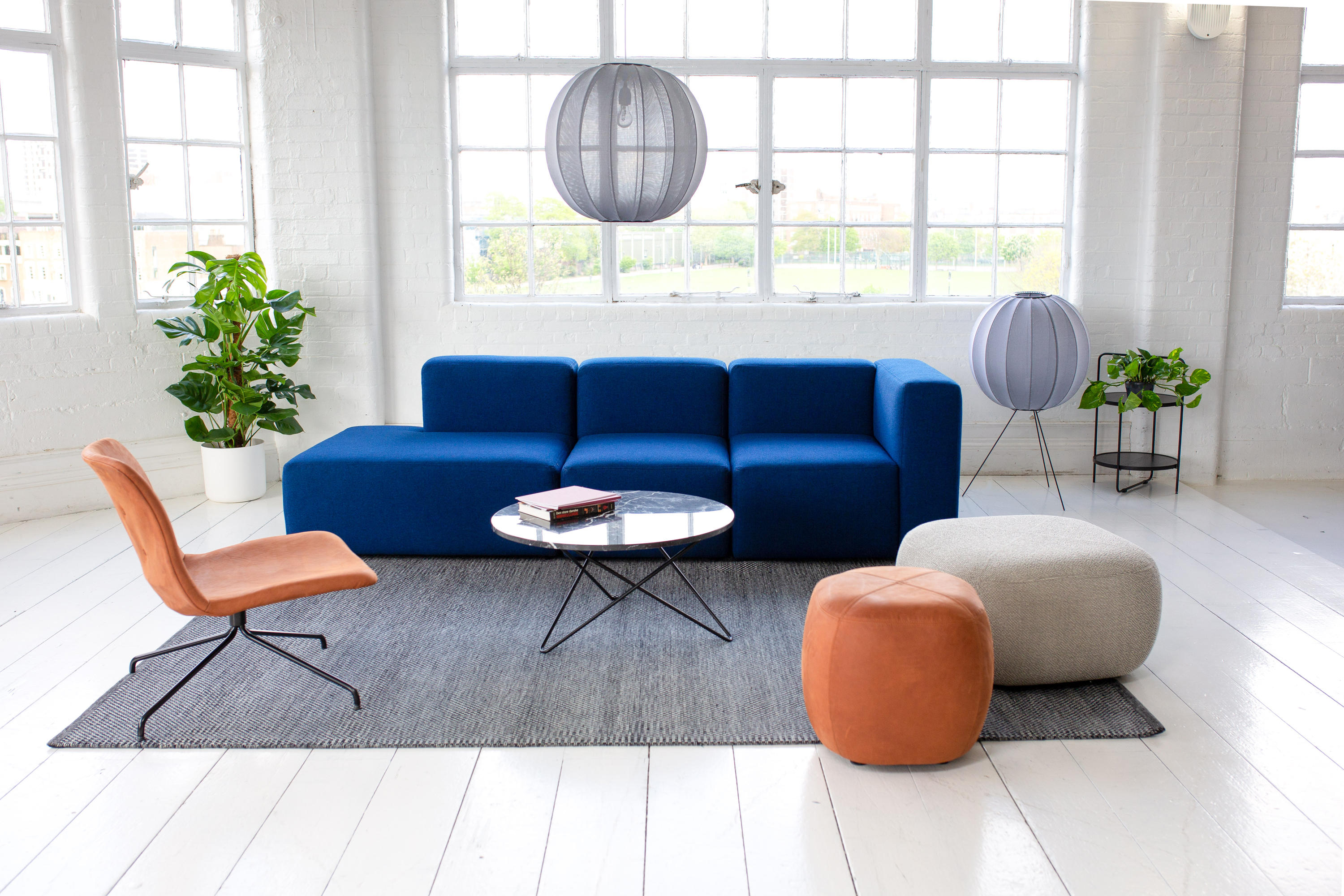 FIRKANT POUF LARGE - Poufs from ICONS OF DENMARK | Architonic