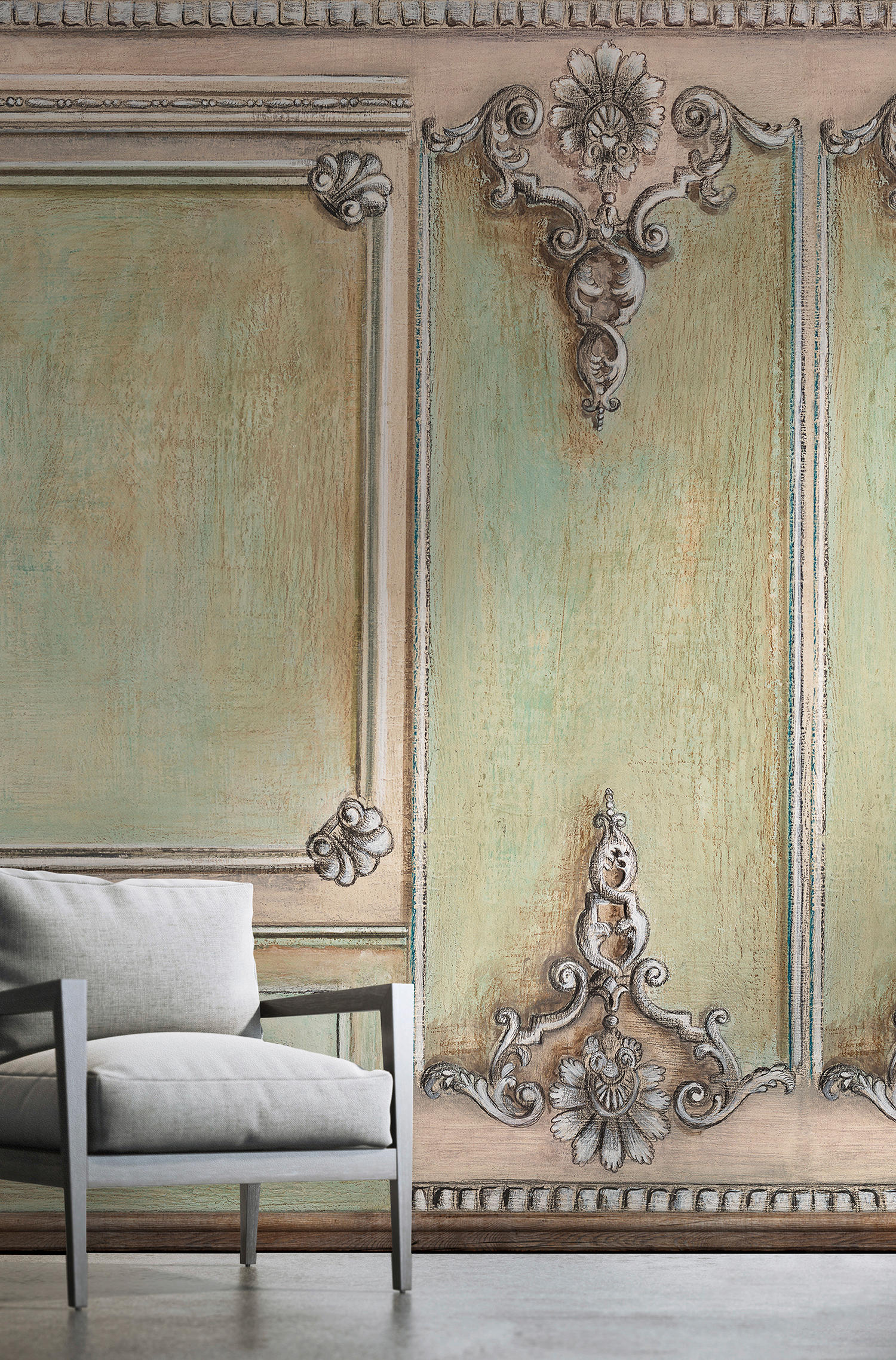 BOISERIE A CONCHIGLIA - Wall coverings / wallpapers from WallPepper ...