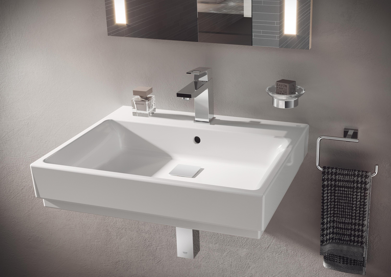 cube keramik waschtisch 60 waschtische von grohe. Black Bedroom Furniture Sets. Home Design Ideas