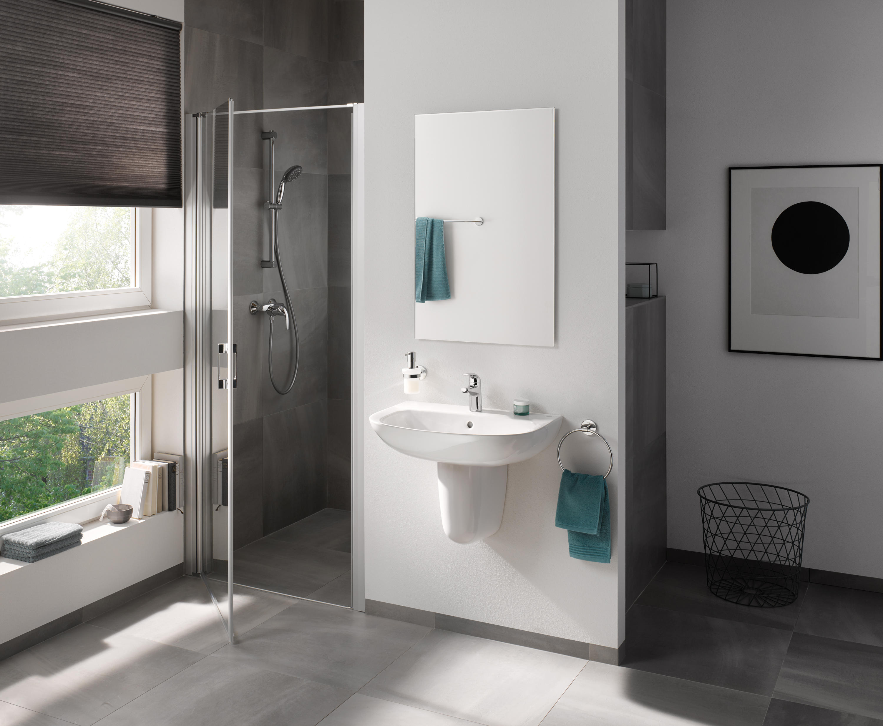 Bau Ceramic Wc Wall Hung Toilets From Grohe Architonic