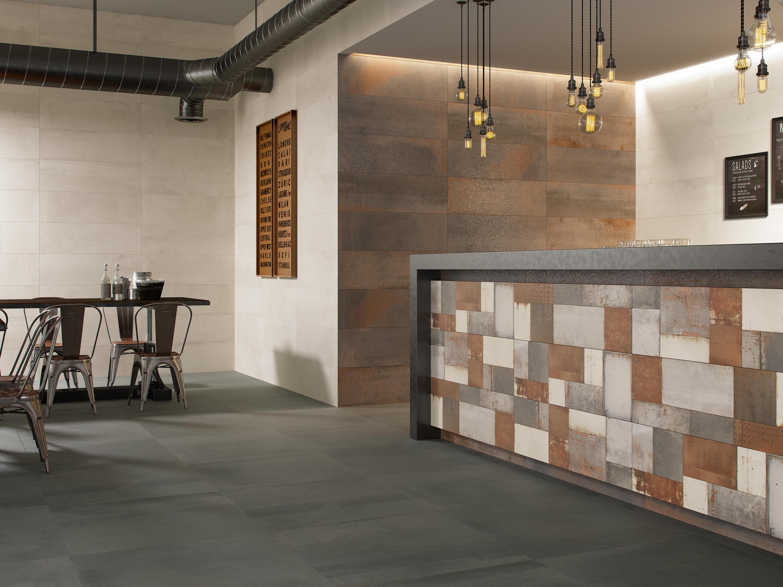 Vulcano Corten 100 Ceramic Tiles From Grespania Ceramica