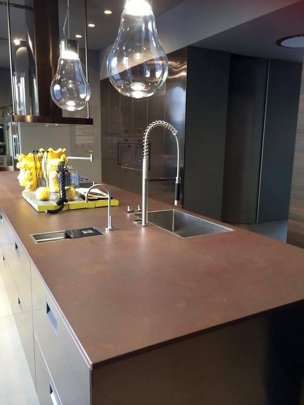 Dekton blanc concrete revestimientos de fachada de cosentino architonic - Comptoir cuisine montreal ...