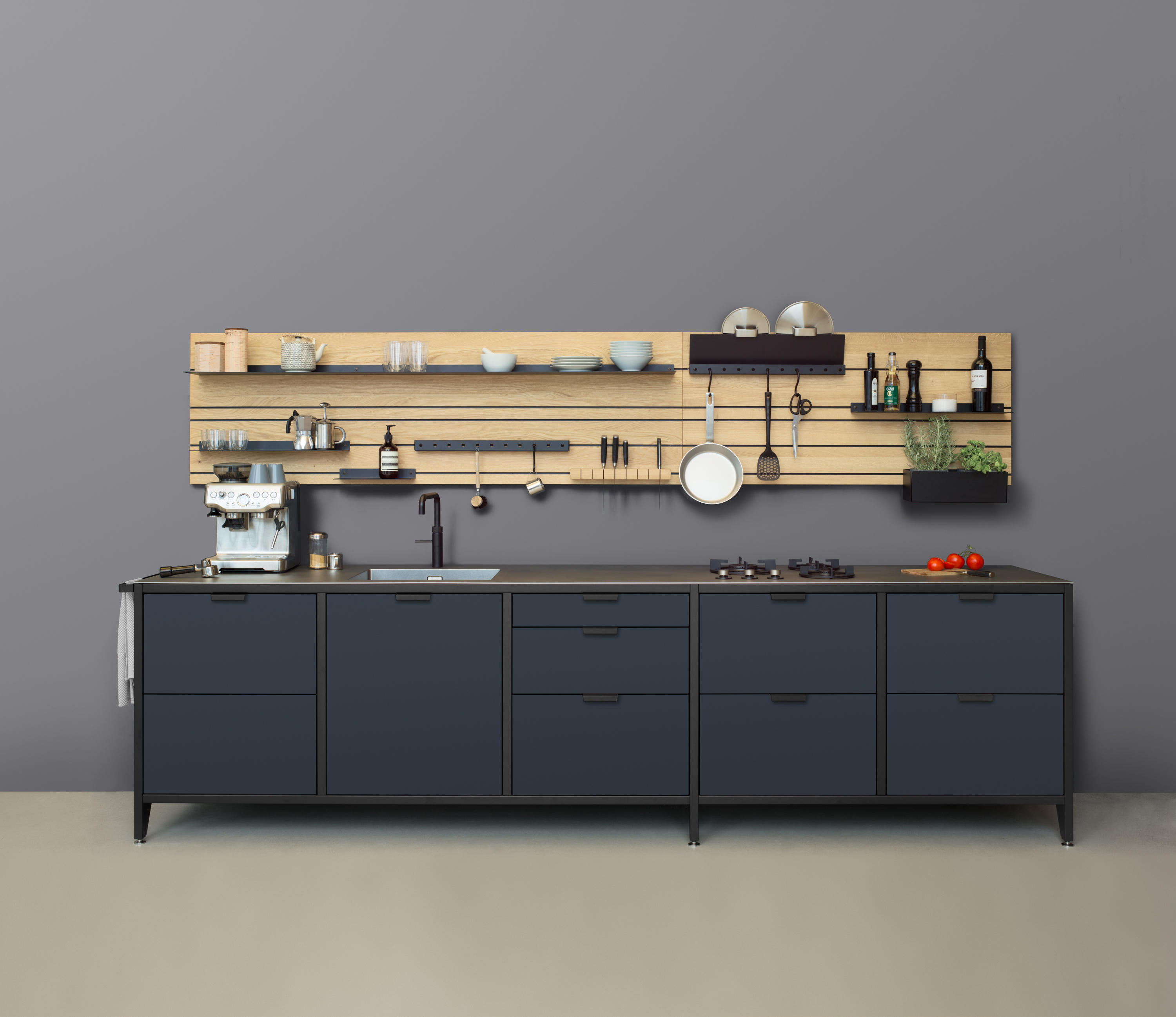 werk modular kitchen modular kitchens from jan cray architonic. Black Bedroom Furniture Sets. Home Design Ideas