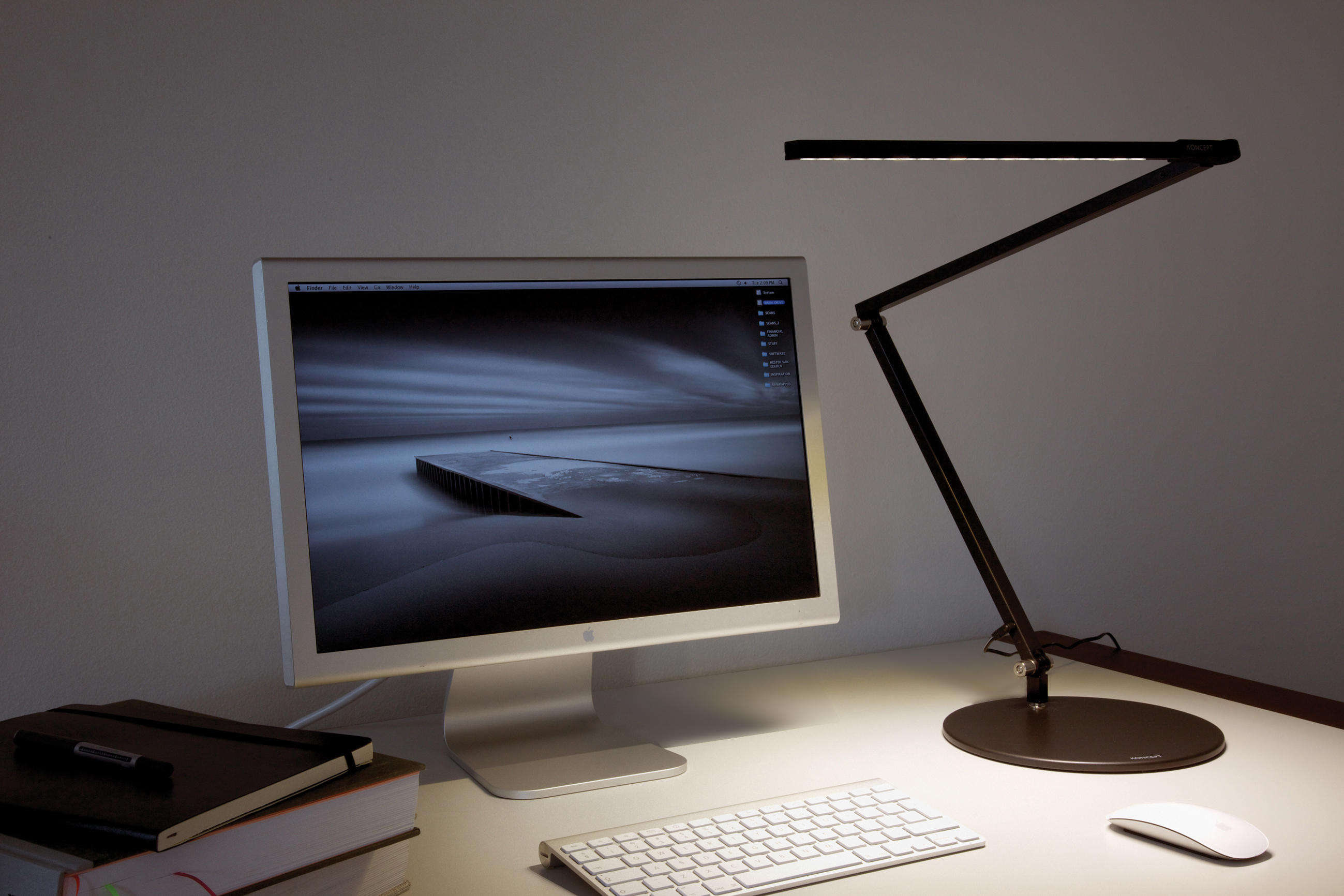 Z Bar Led Desk Lamp Metallic Black General Lighting