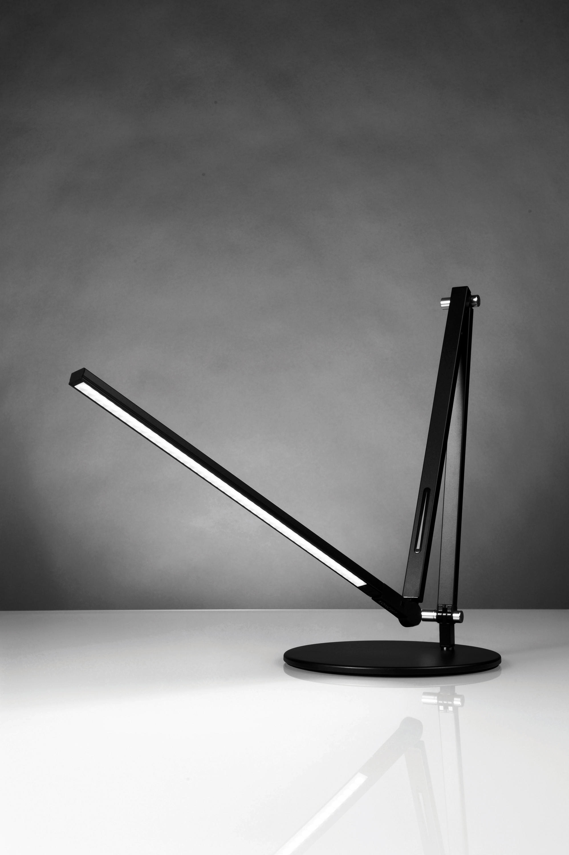 Z Bar Led Desk Lamp Metallic Black Table Lights From