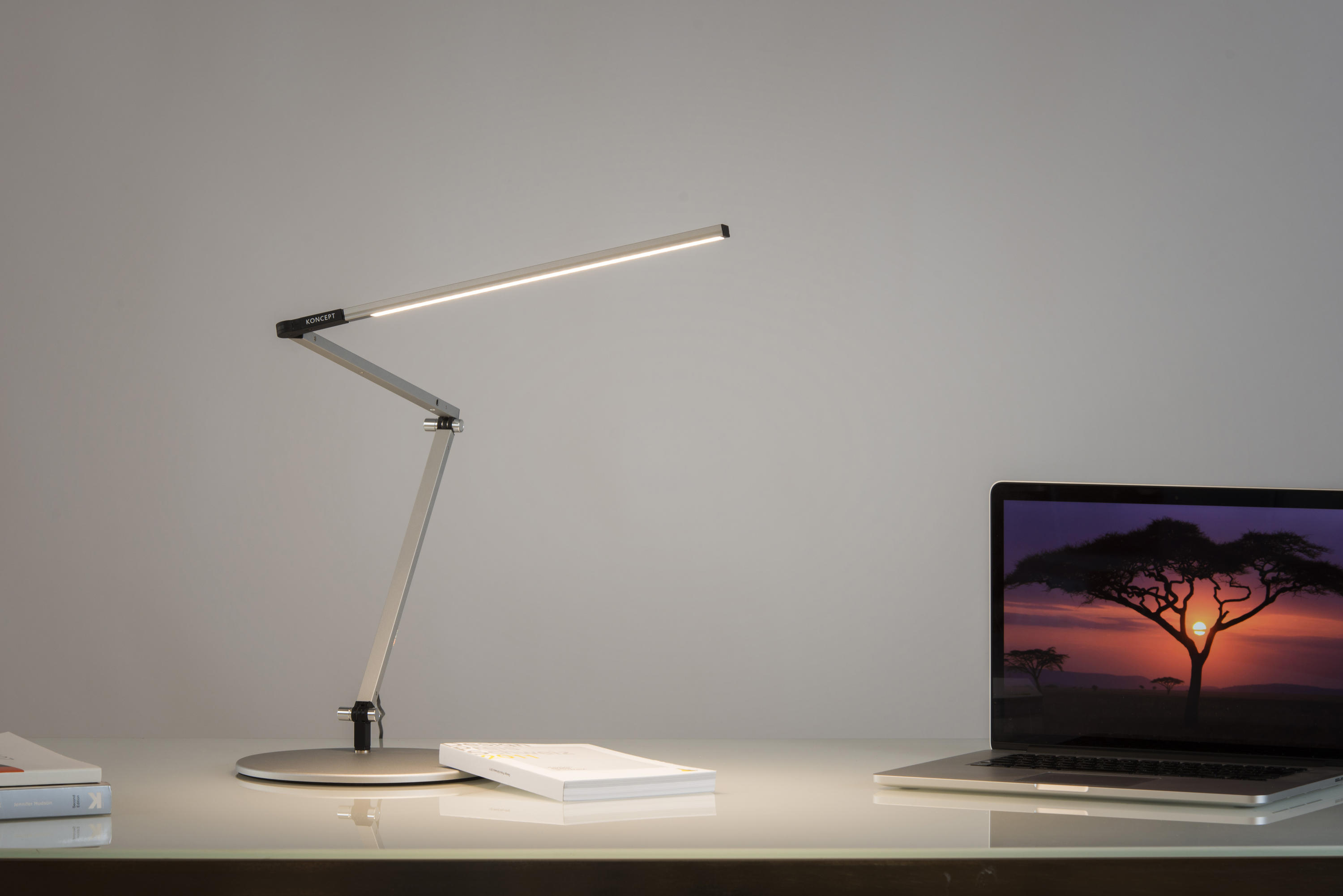 Z Bar Led Desk Lamp Metallic Black By Koncept