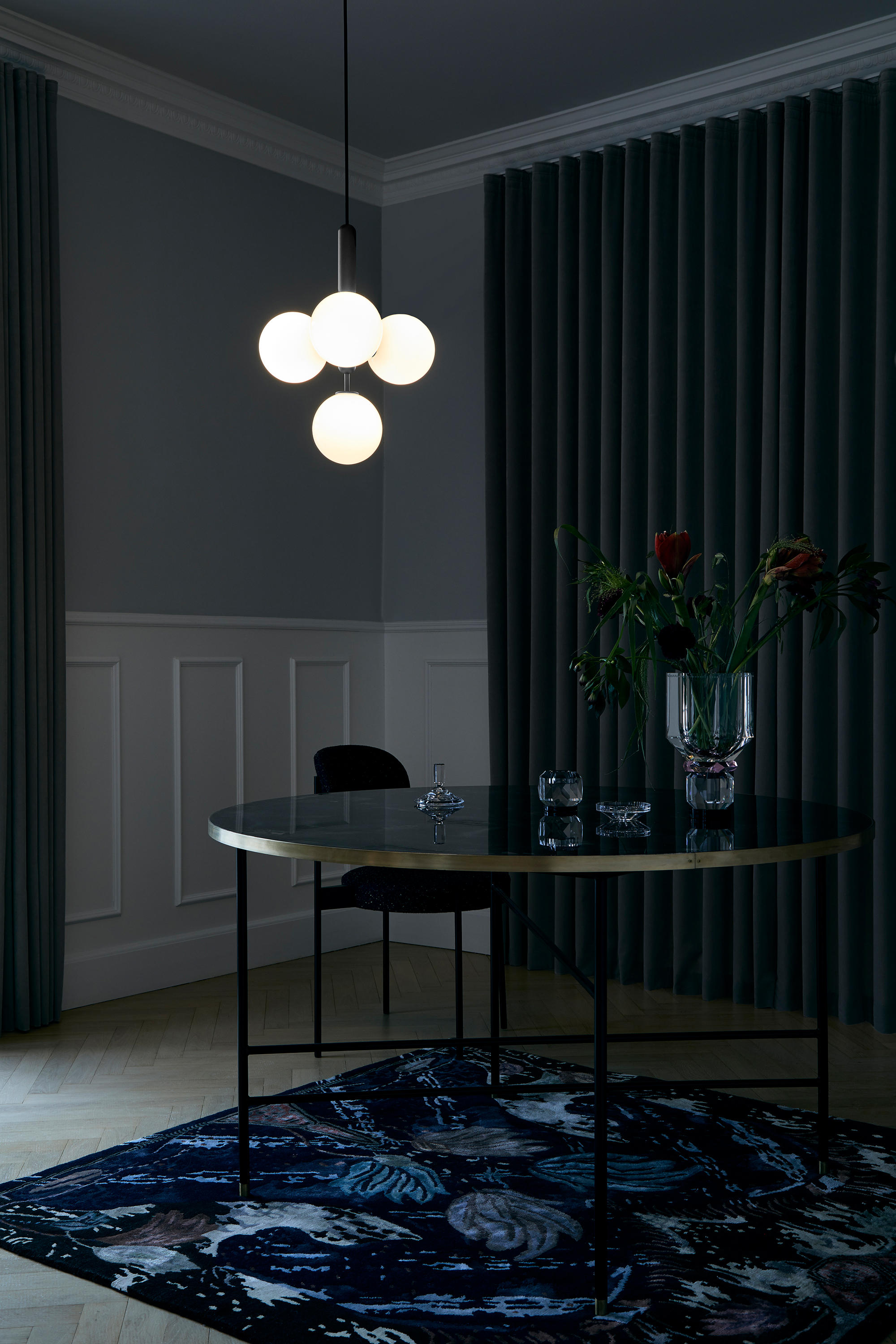 Miira 1 Opal Suspended Lights From Nuura Architonic