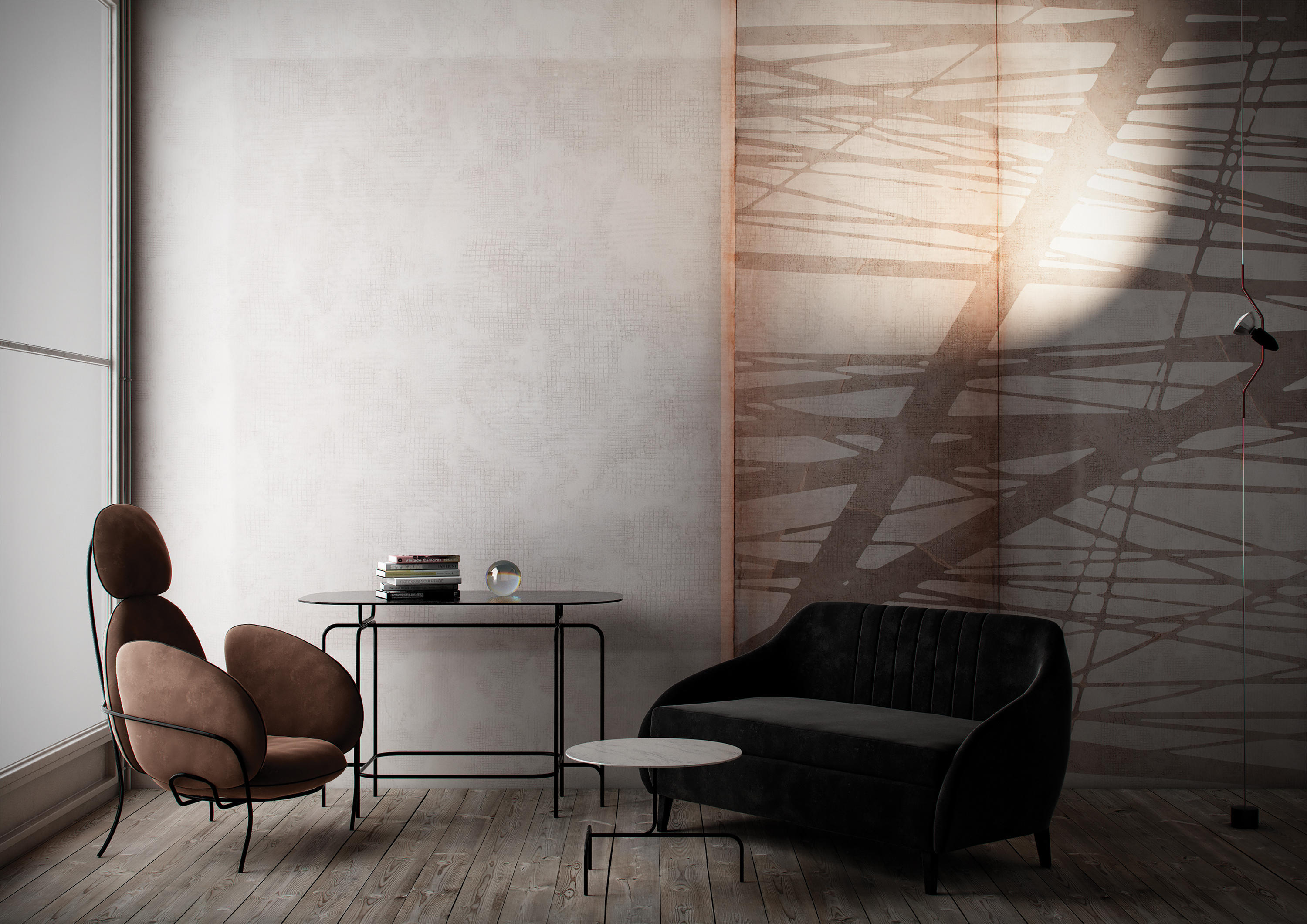 TOUCH BLOCK PRINT - Bespoke wall coverings from GLAMORA