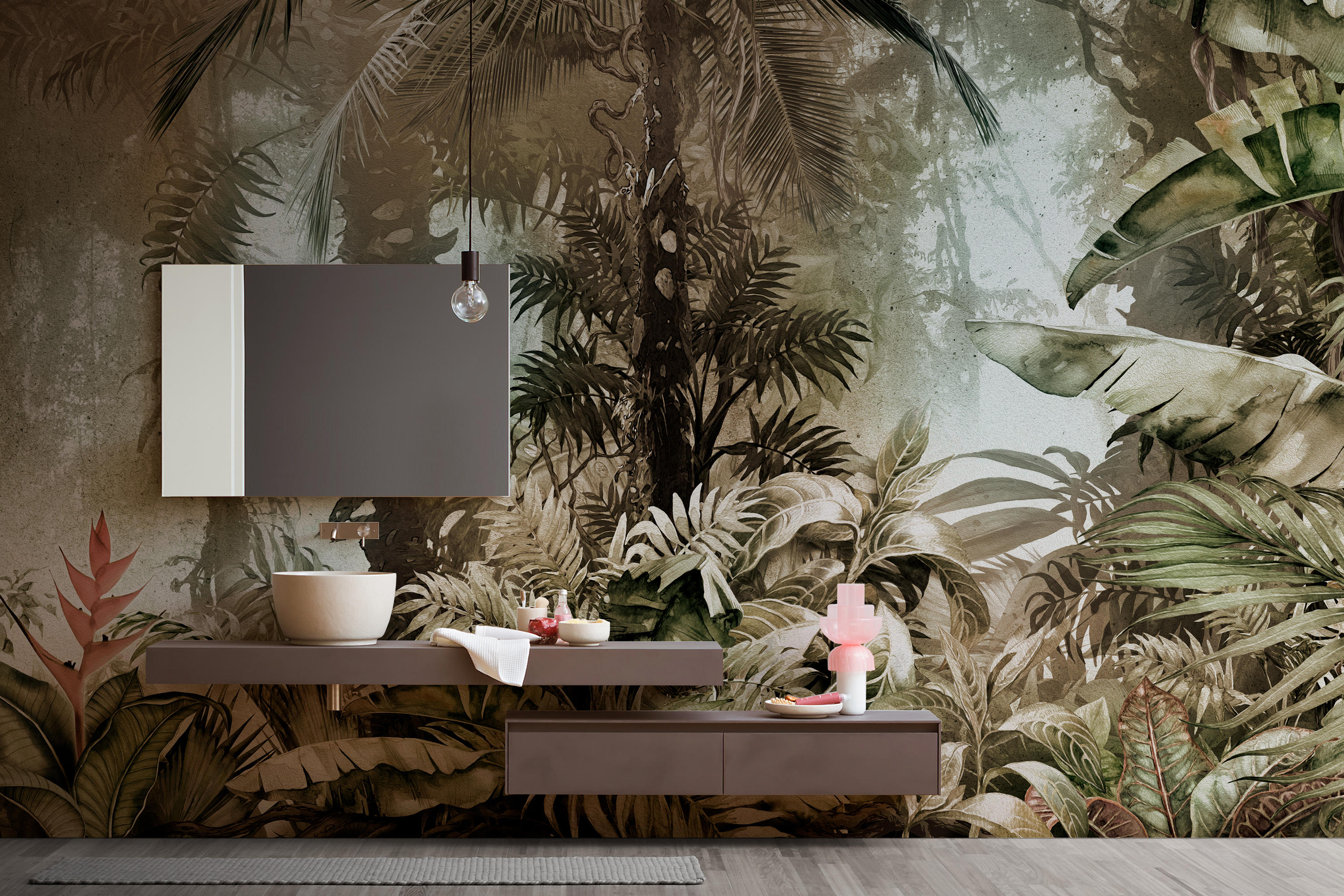 Mowgli Wall Coverings Wallpapers From Inkiostro Bianco