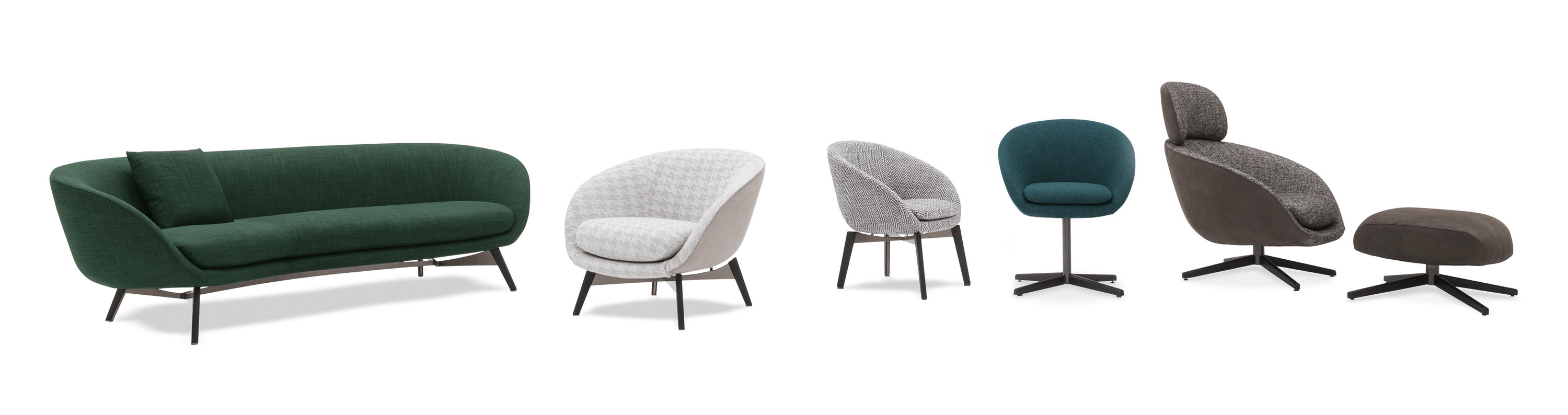 Russell Lounge Chairs From Minotti Architonic
