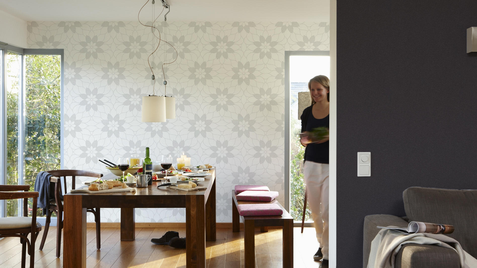 361681 wandbel ge tapeten von architects paper architonic. Black Bedroom Furniture Sets. Home Design Ideas