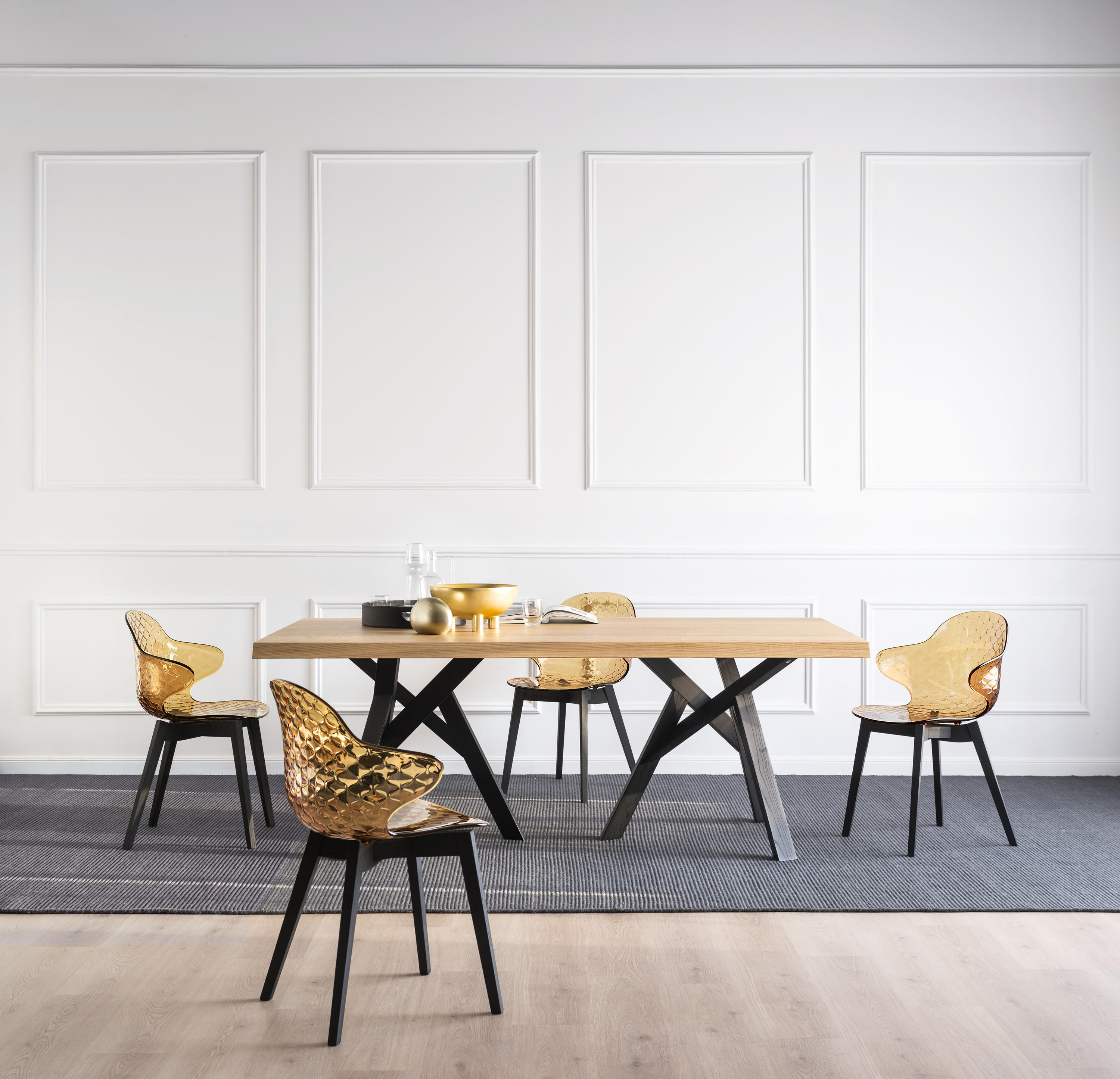 Saint tropez chairs from calligaris architonic for Calligaris saint tropez