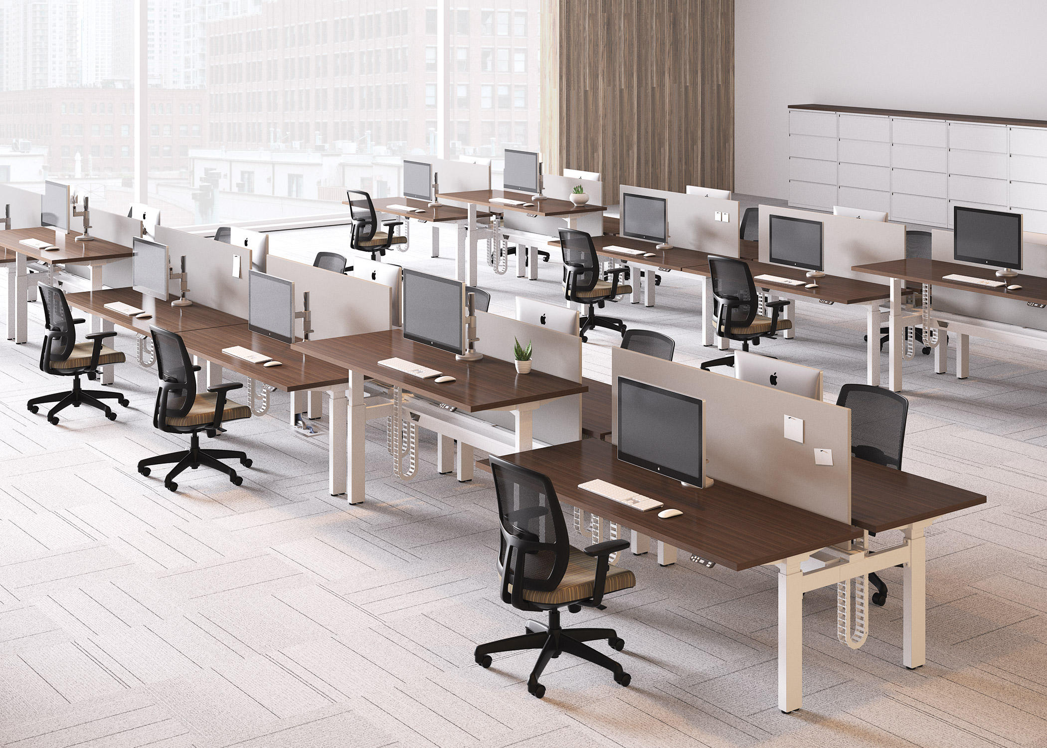 alloy desk - contract tables from national office furniture