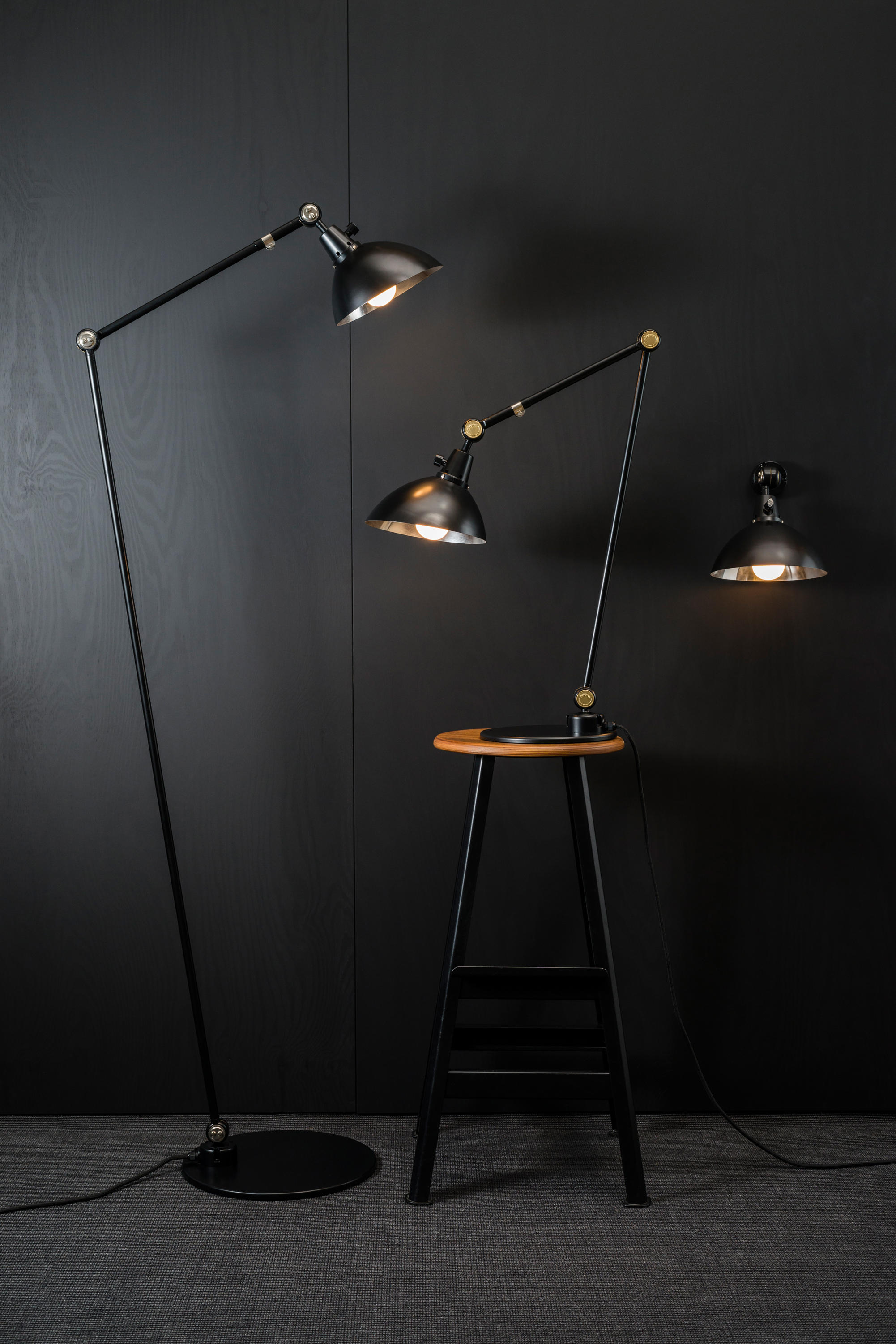 Typ 551 table lamp table lights from midgard licht for Lamp und licht