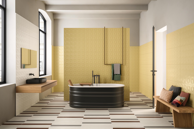 Bold White Ceramic Tiles From Marca Corona Architonic