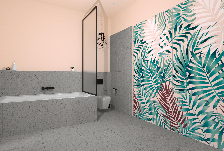 Domestic jungle blush op djb piastrelle ceramica
