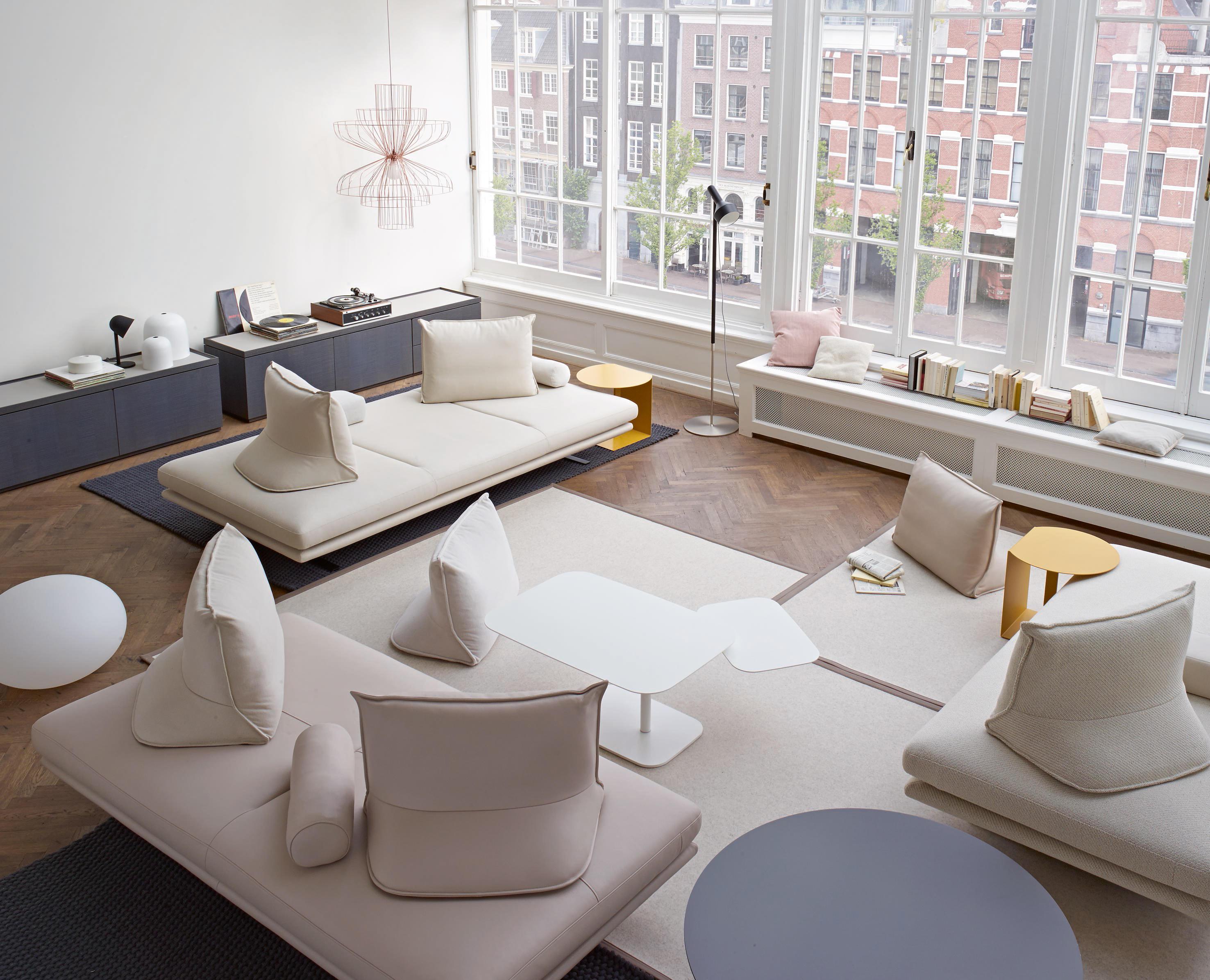 Prado 3 Sitzer Tiefe 120 Komplettes Element Sofas Von Ligne