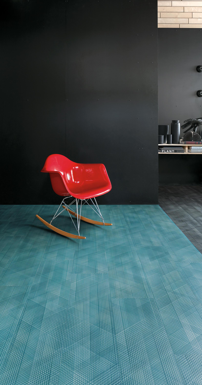 Interface floor tiles