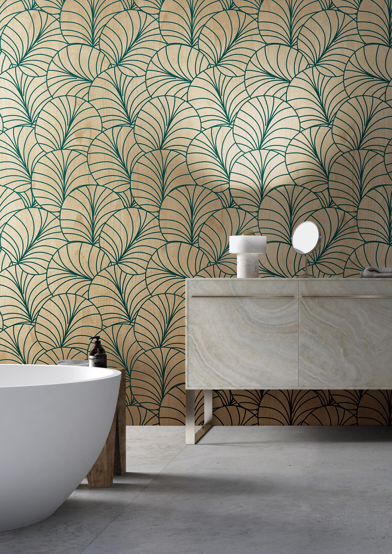 Ventagli Da Parete Decorativi ventaglio - pannelli per pareti inkiostro bianco | architonic