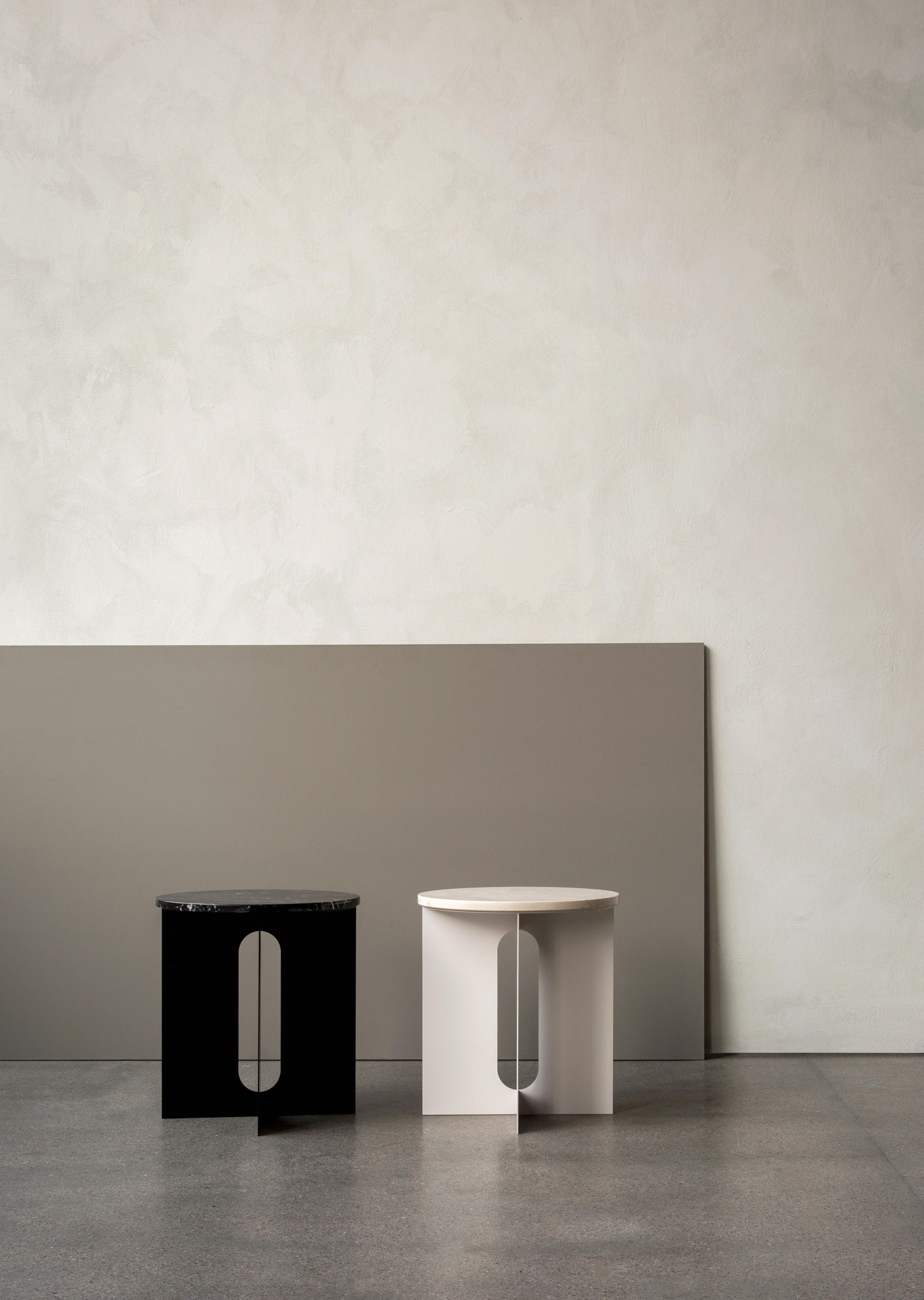 Androgyne Side Table Marble Top Architonic