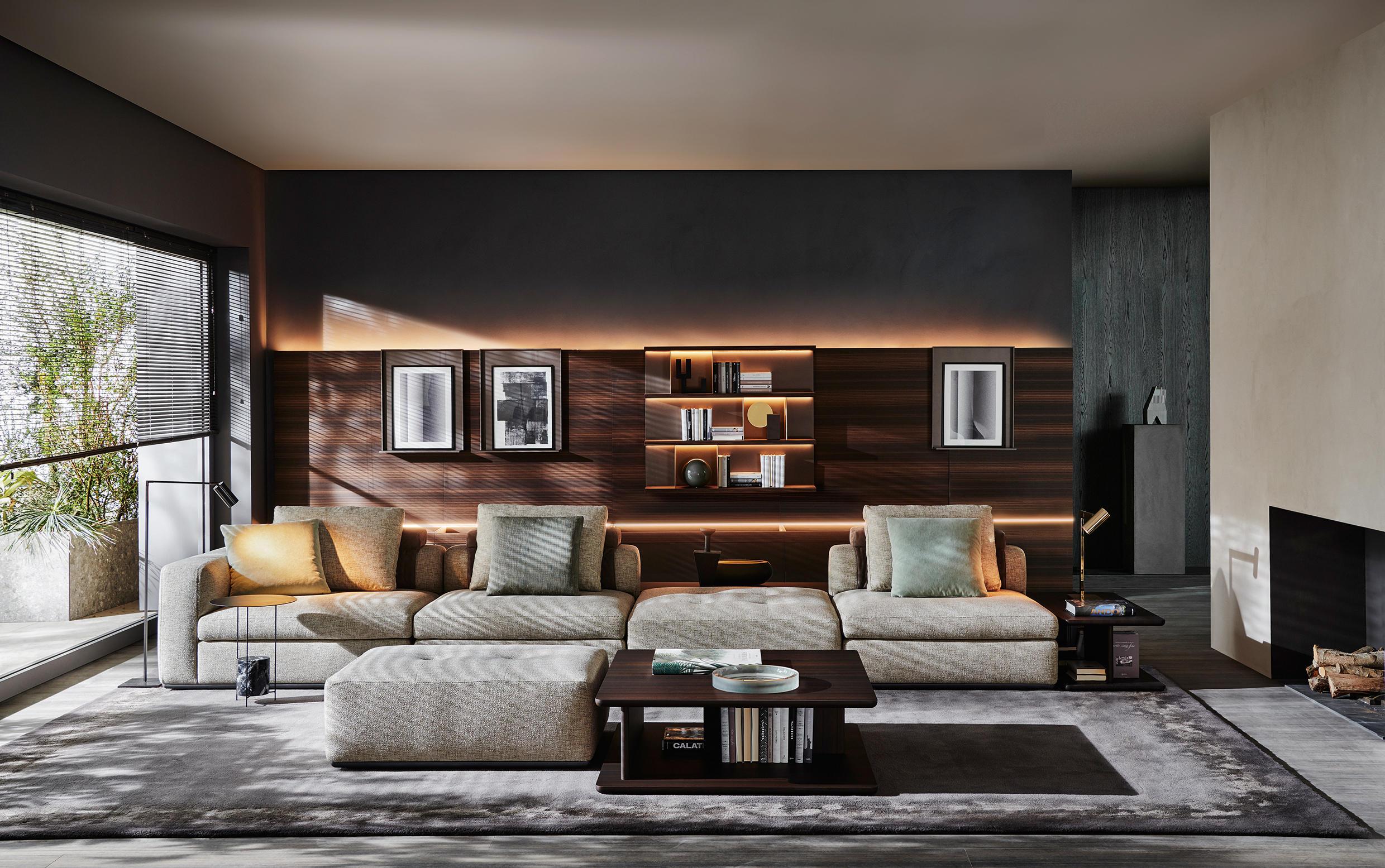 Grid pareti attrezzate molteni c architonic for Designer di interni